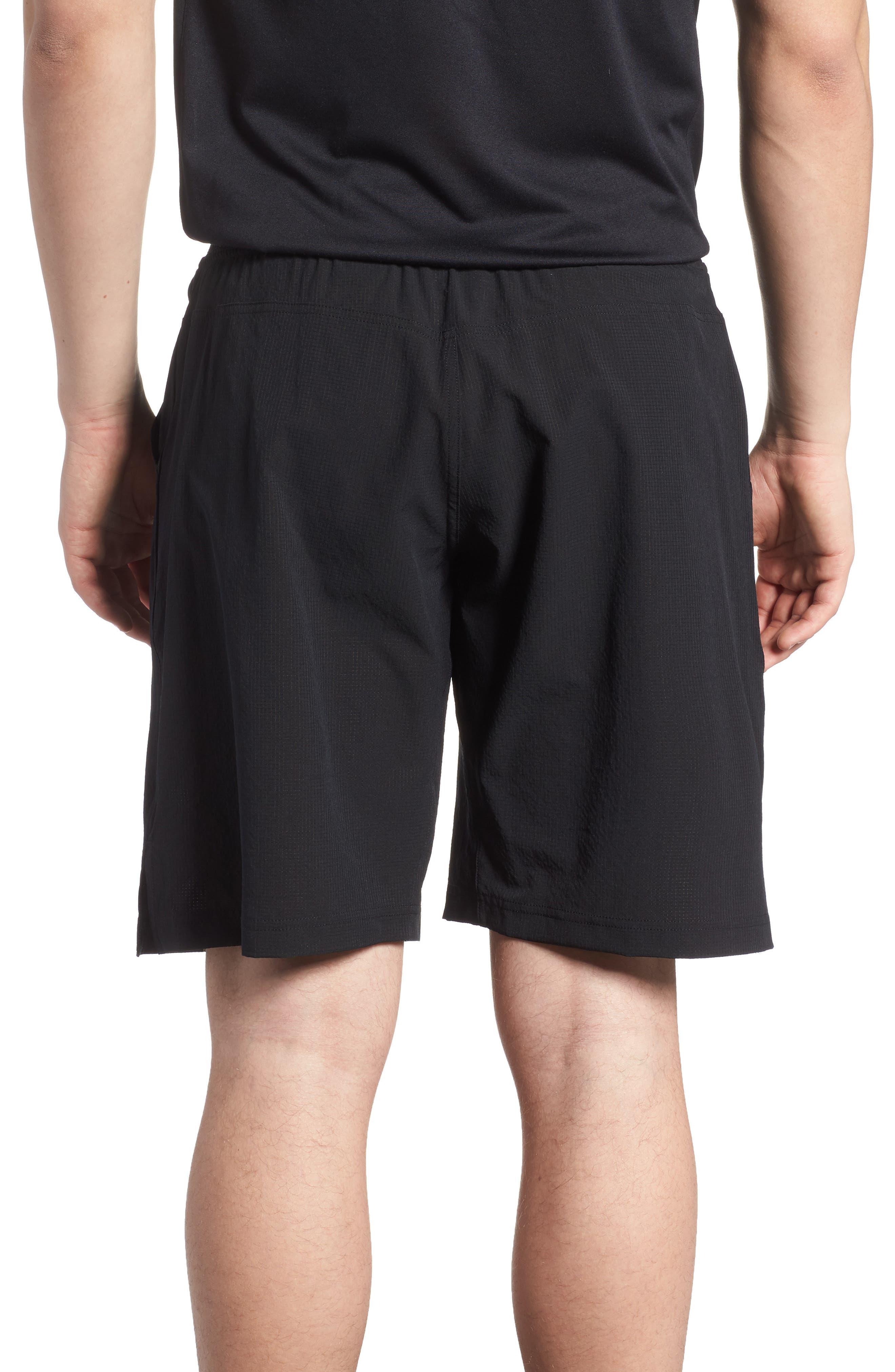 Epic Knit Shorts,                             Alternate thumbnail 2, color,                             BLACK