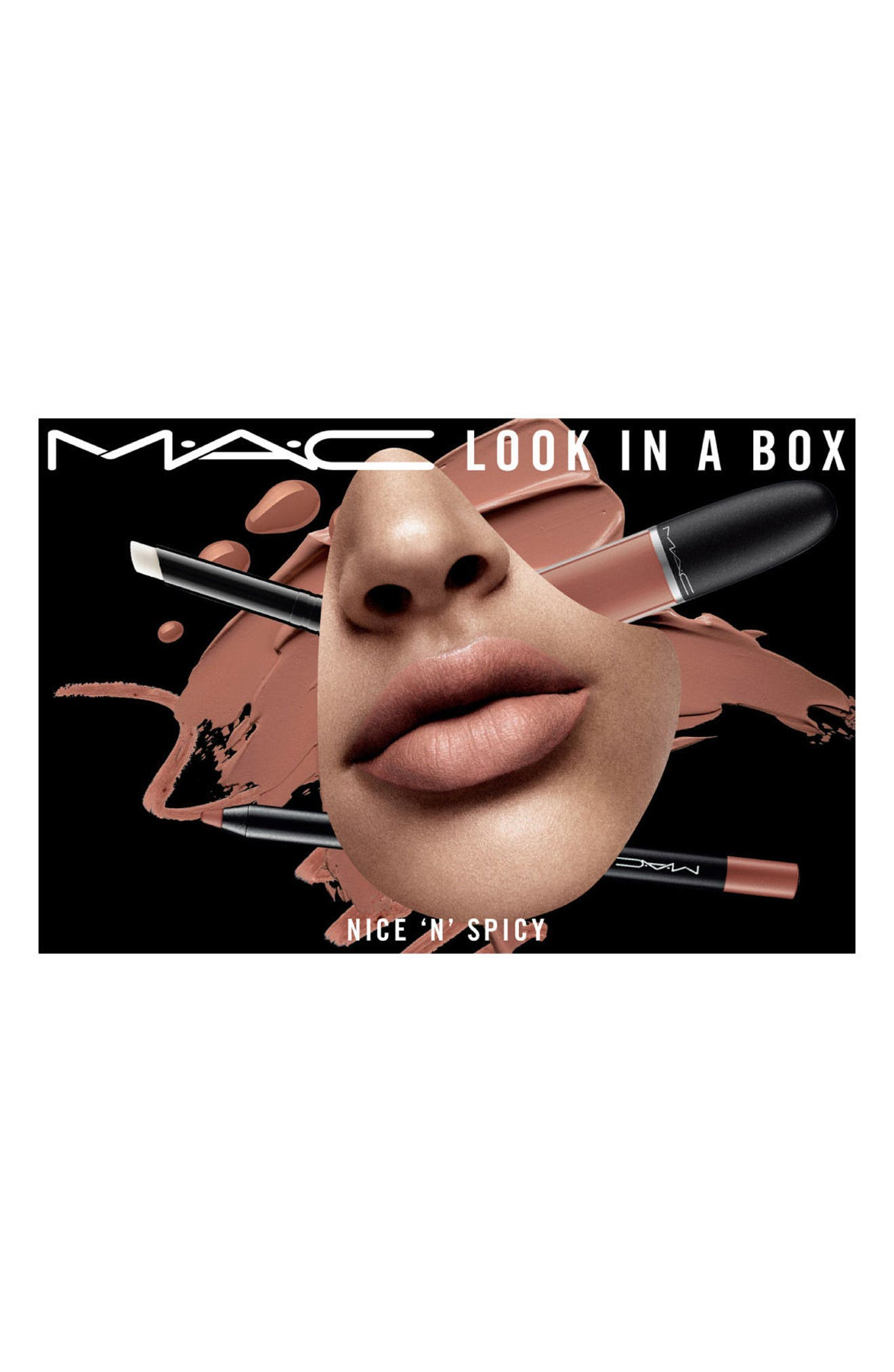 MAC Look in a Box Nice 'n Spicy Lip Kit,                             Alternate thumbnail 4, color,                             600