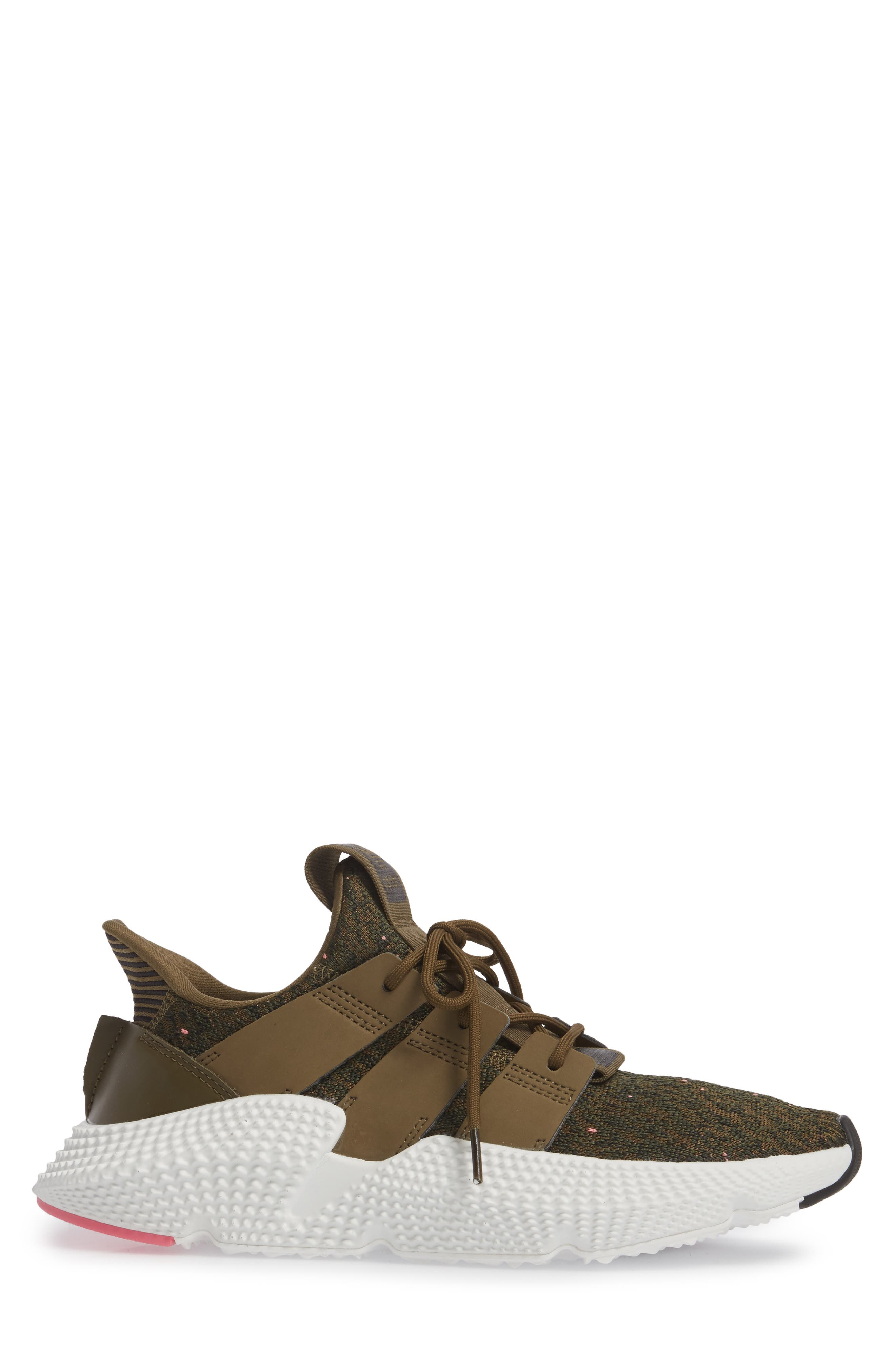 Prophere Sneaker,                             Alternate thumbnail 3, color,                             TRACE OLIVE/ CHALK PINK