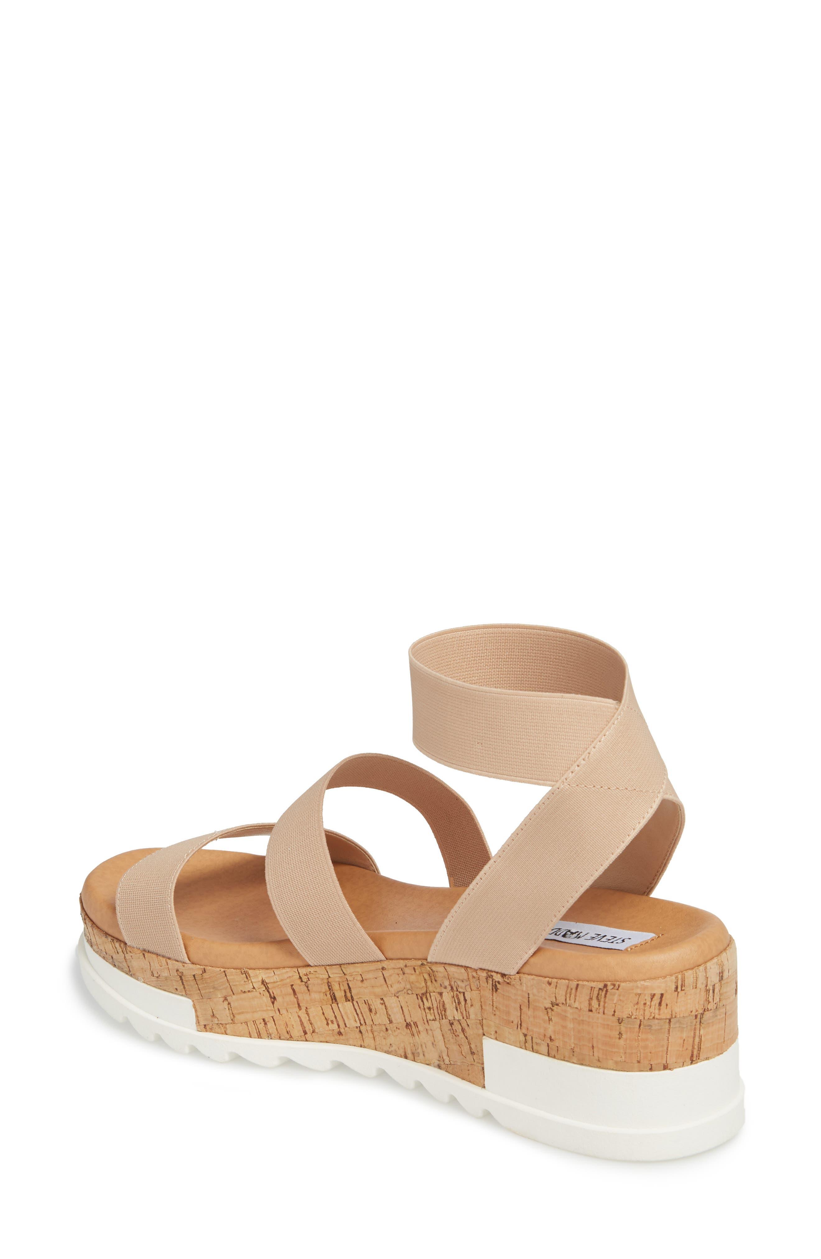 Bandi Platform Wedge Sandal,                             Alternate thumbnail 2, color,                             BLUSH