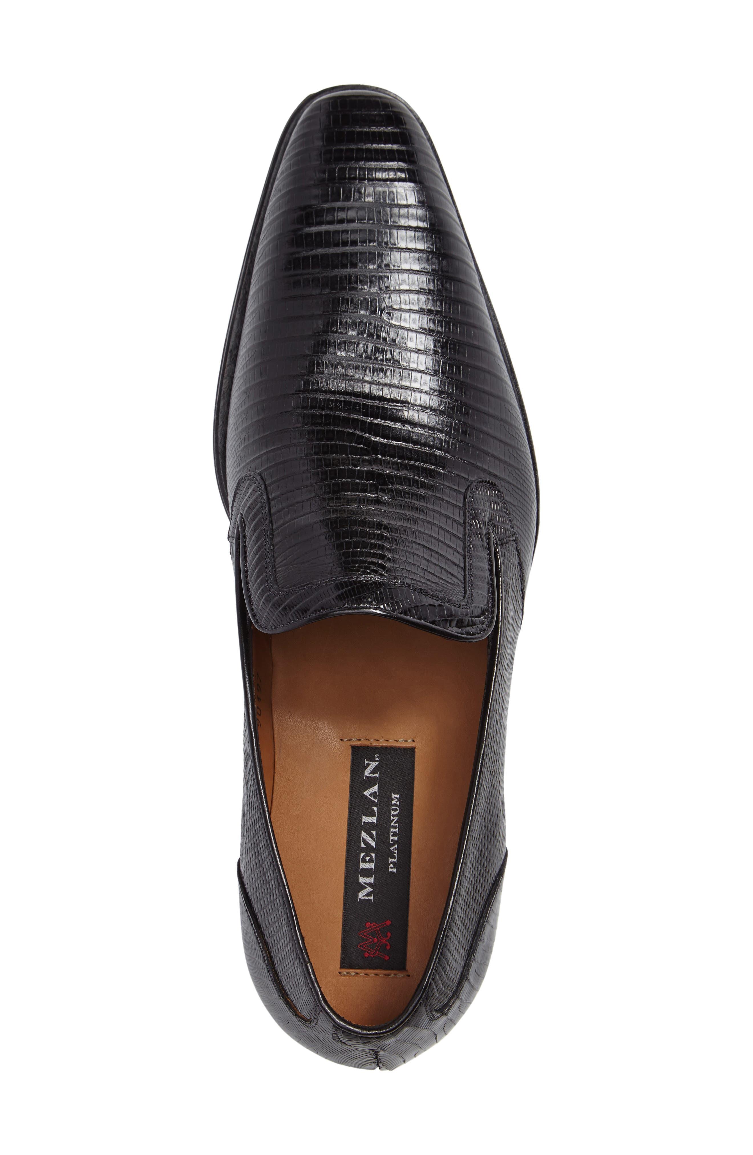 Hooke Venetian Loafer,                             Alternate thumbnail 3, color,                             BLACK