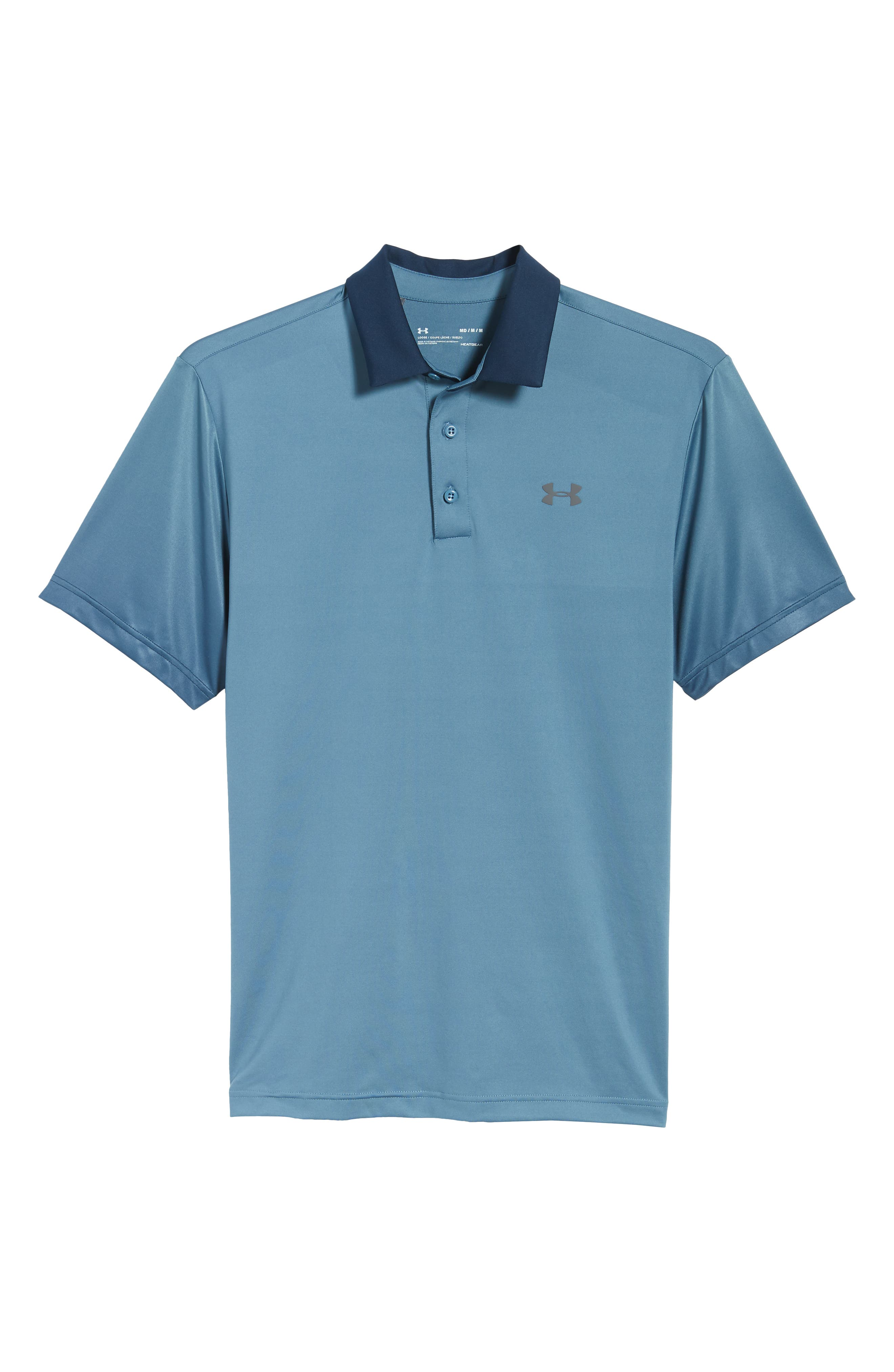 'Playoff' Loose Fit Short Sleeve Polo,                             Alternate thumbnail 294, color,