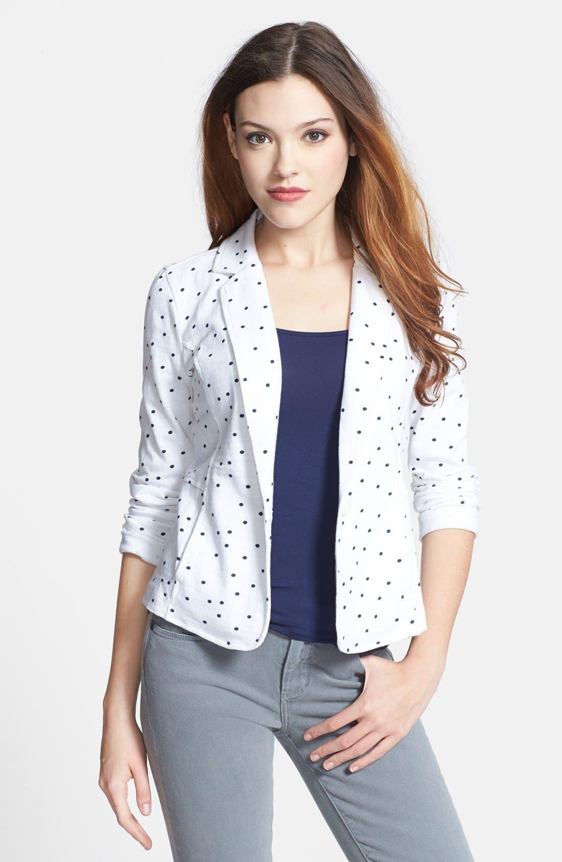 Cotton Knit Jacket,                             Main thumbnail 6, color,