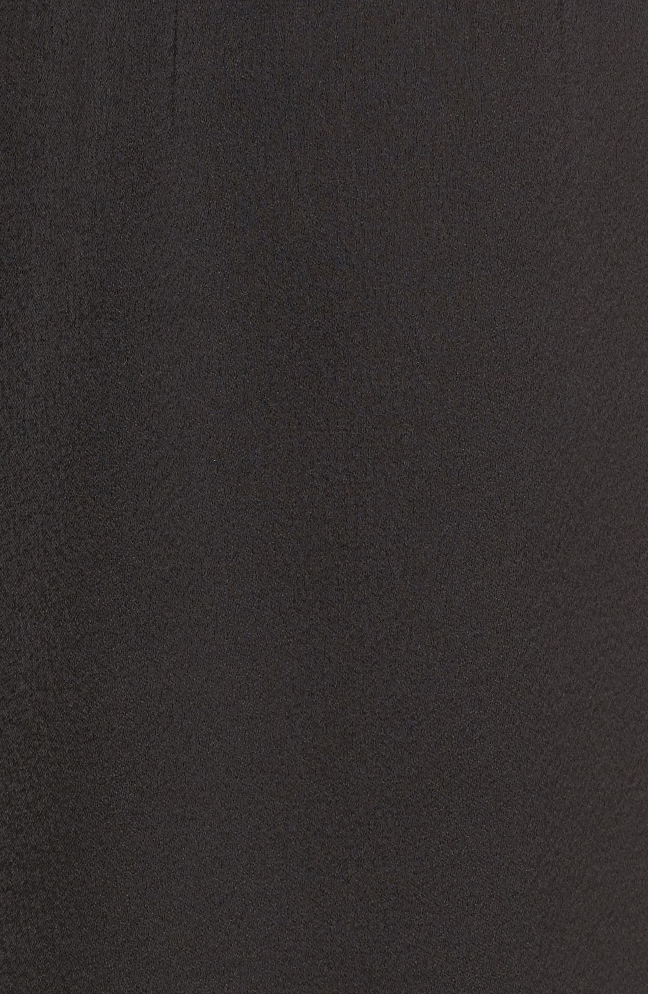 Melanie Strapless Jumpsuit,                             Alternate thumbnail 9, color,