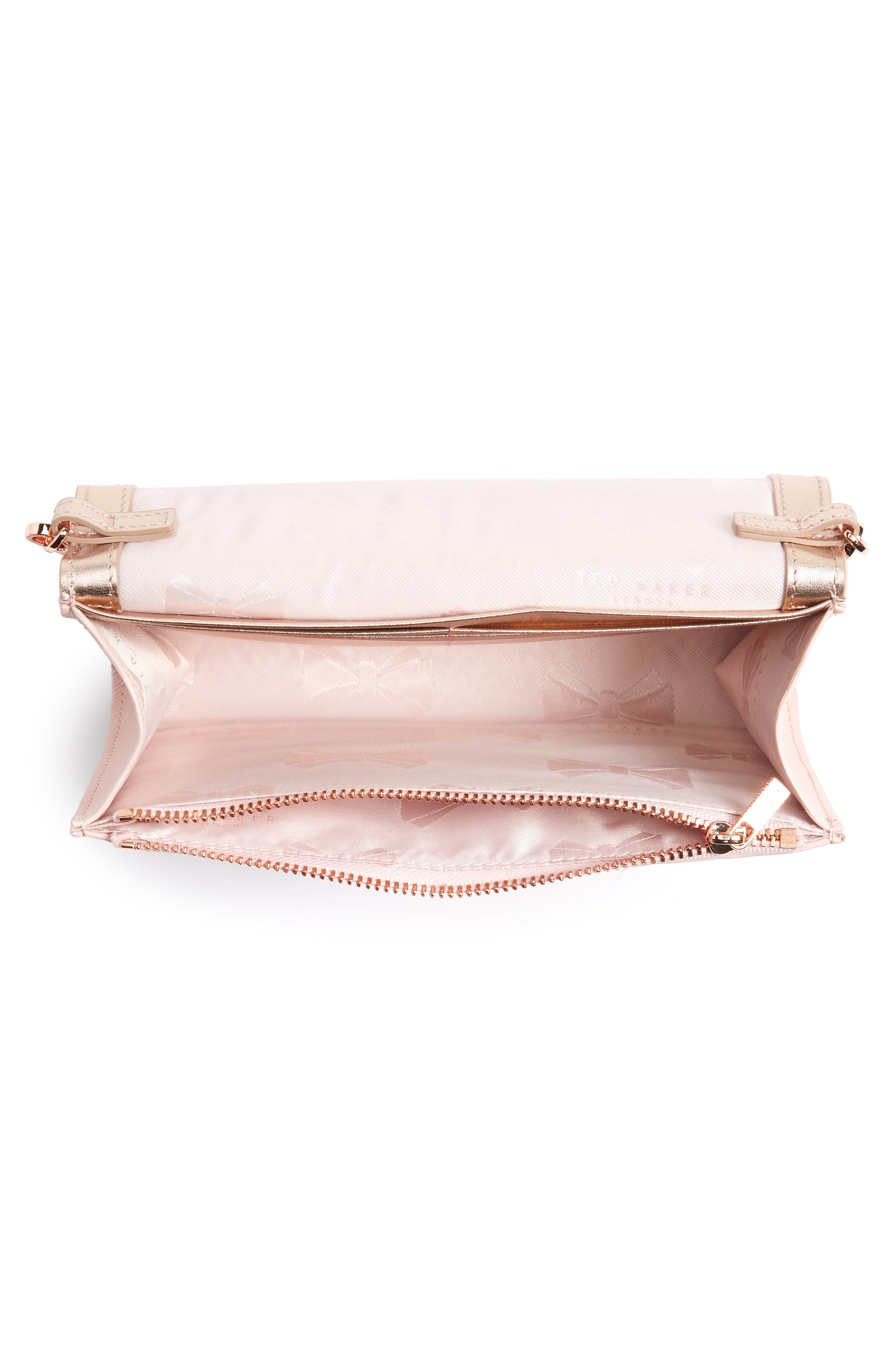 Melisia Bow Matinée Wallet on a Chain,                             Alternate thumbnail 12, color,