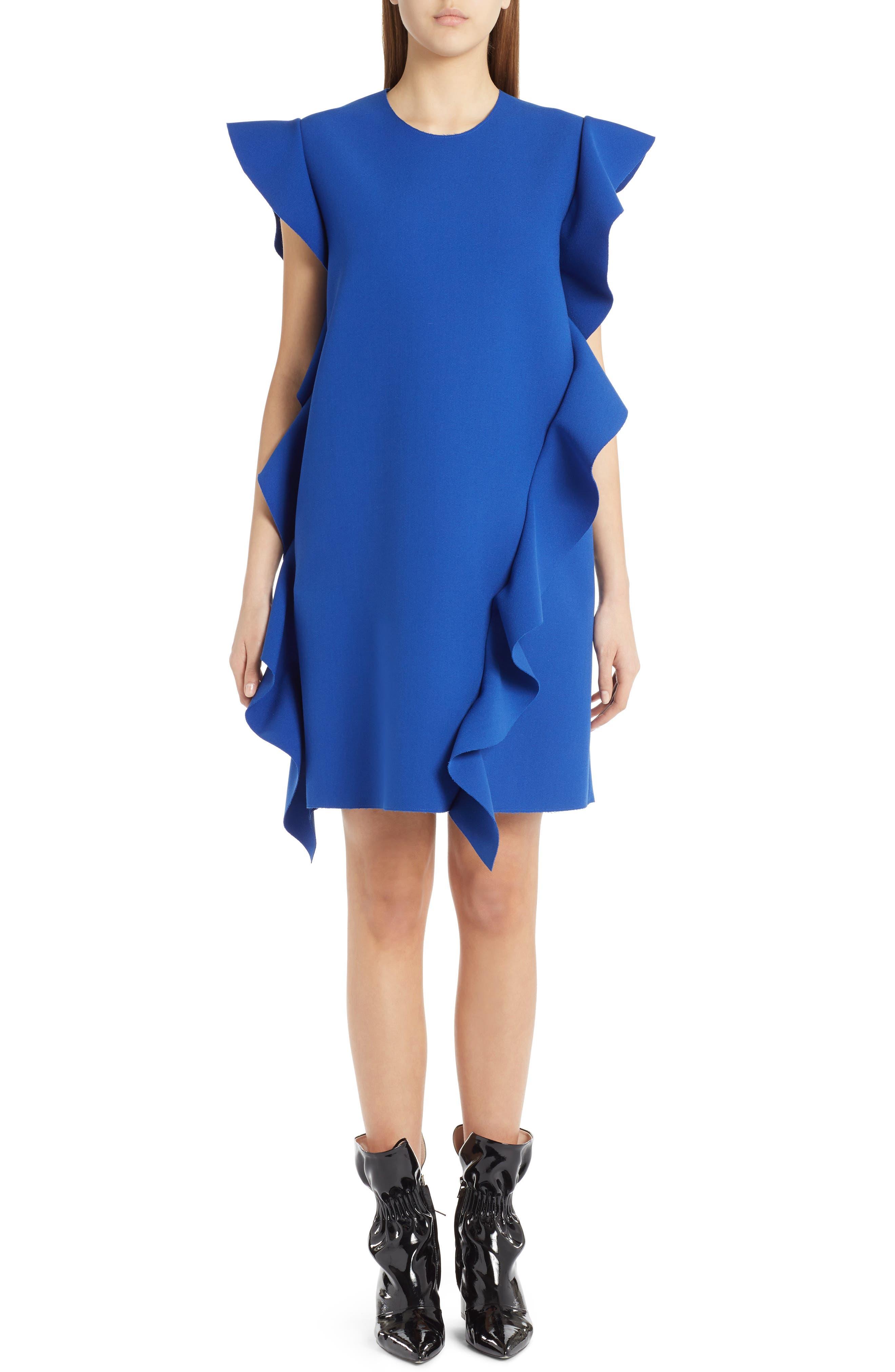 Ruffle Dress,                         Main,                         color, 400