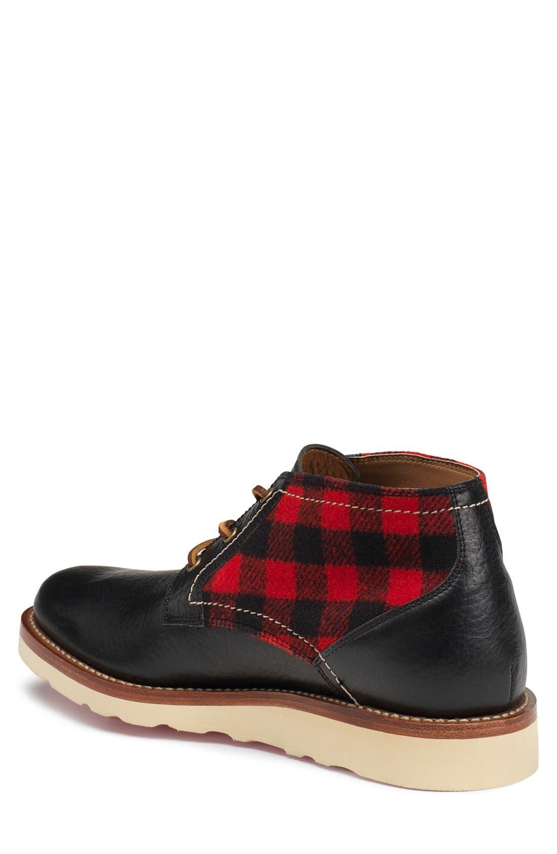 'Bighorn' Plain Toe Boot,                             Alternate thumbnail 5, color,