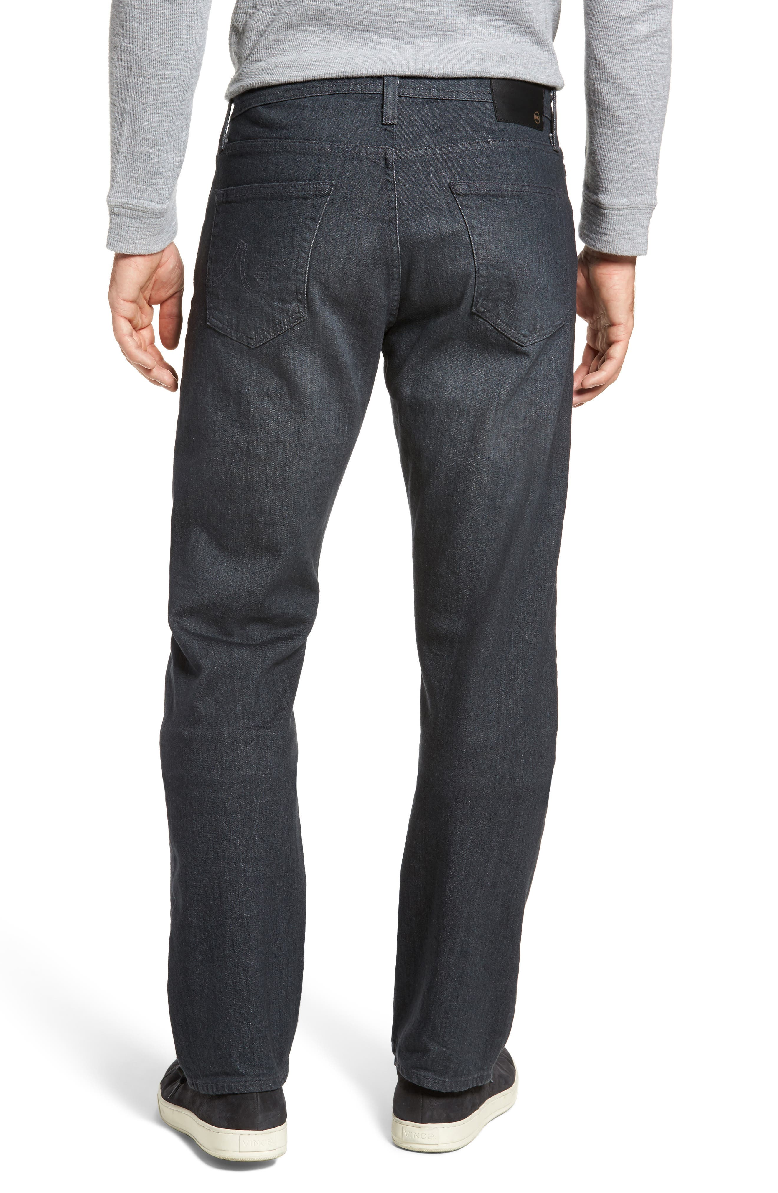 Ives Straight Fit Jeans,                             Alternate thumbnail 2, color,                             015