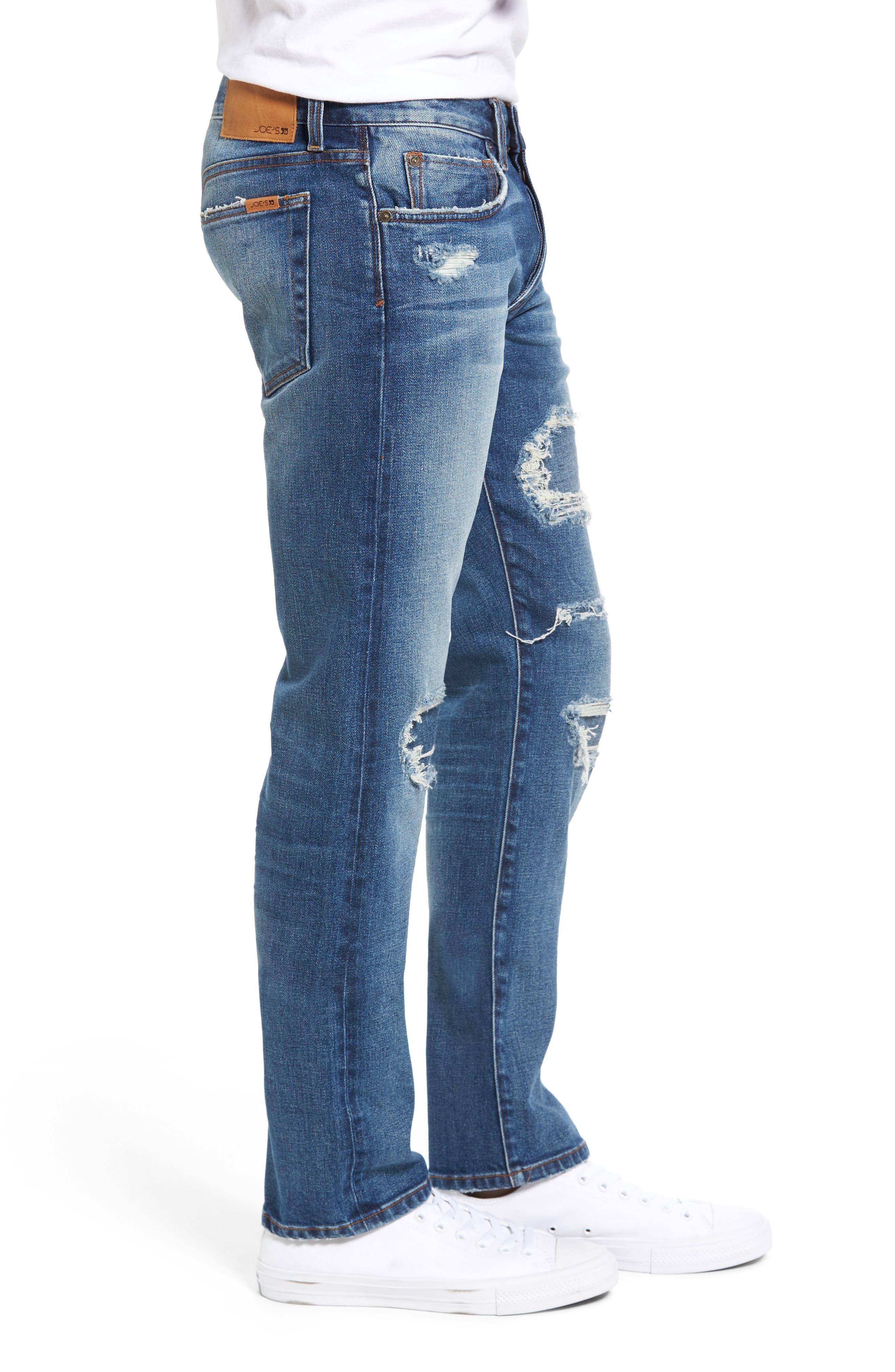 Brixton Slim Fit Jeans,                             Alternate thumbnail 3, color,                             410