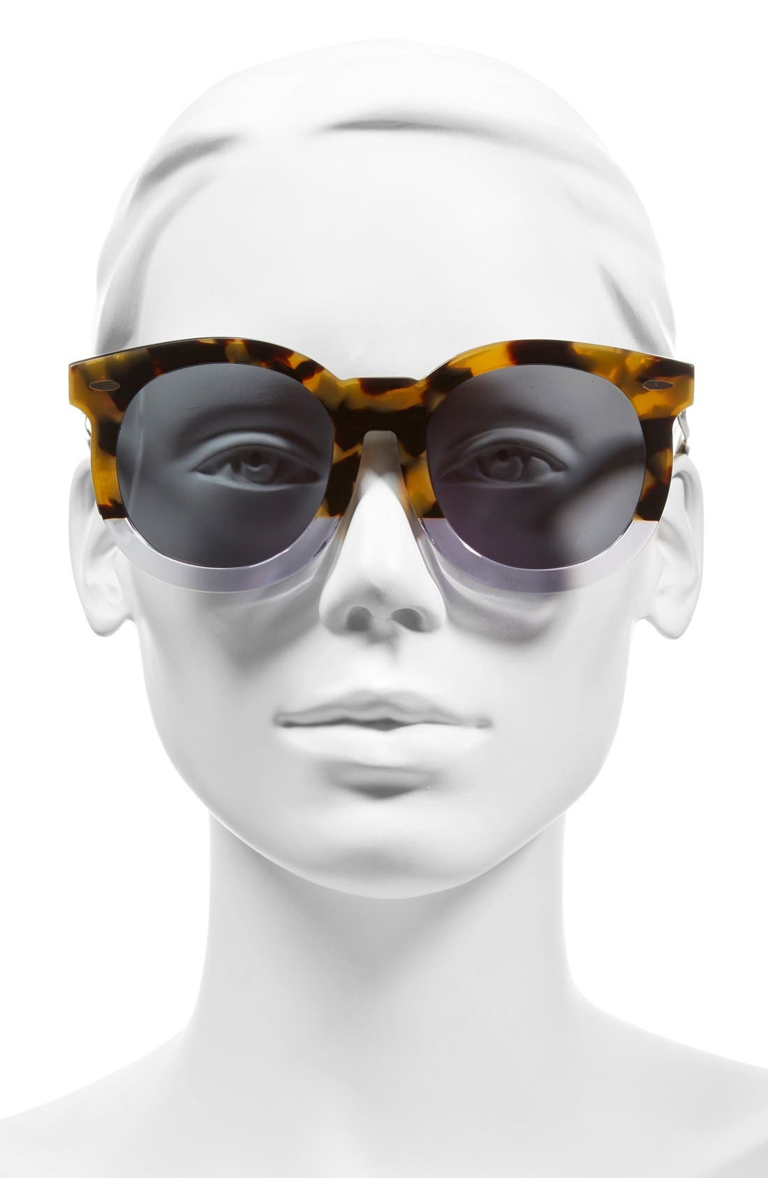 'Super Duper Thistle' 52mm Retro Sunglasses,                             Alternate thumbnail 4, color,