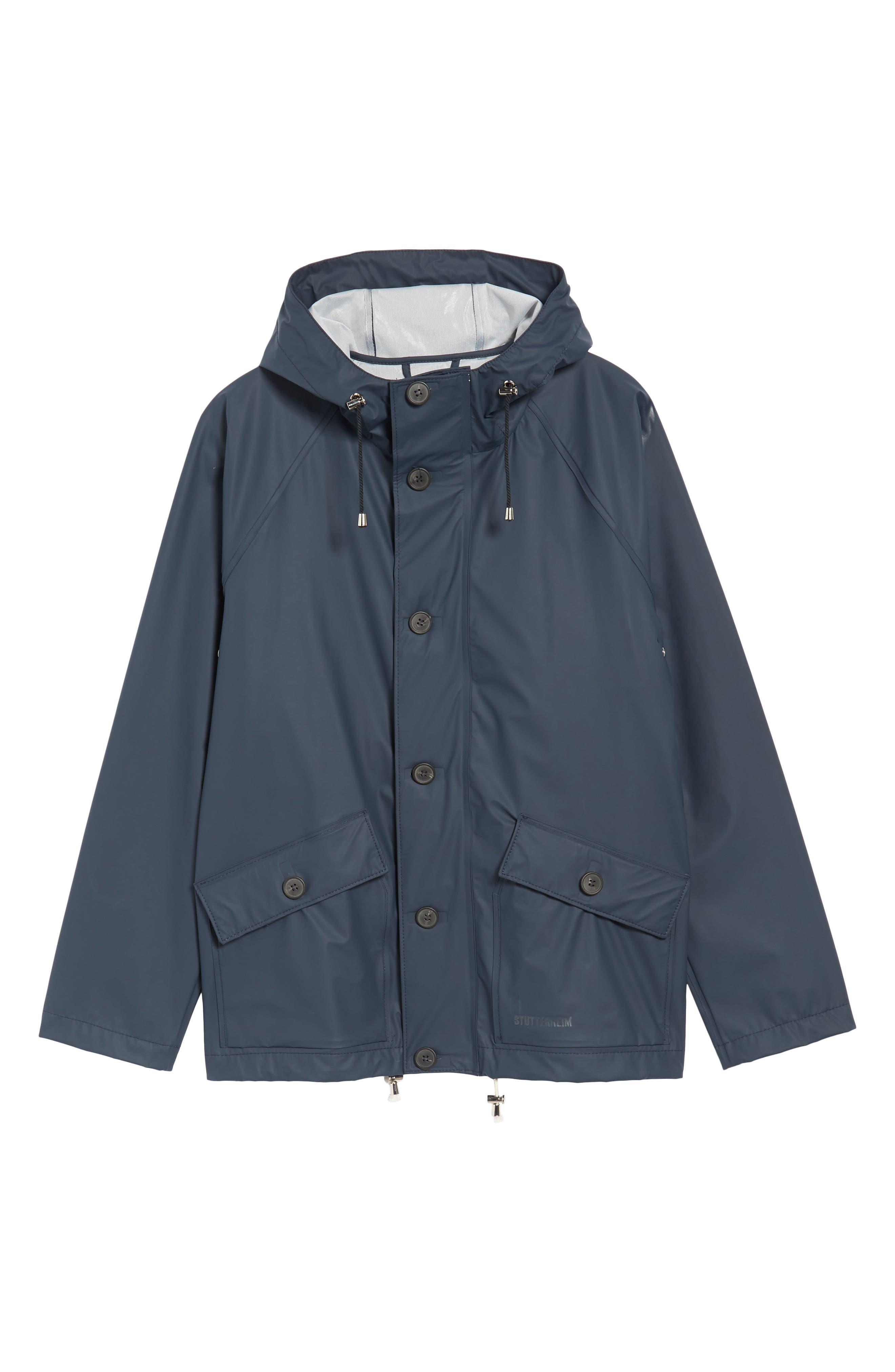 Stenhamra Classic Fit Jacket,                             Alternate thumbnail 5, color,                             NAVY