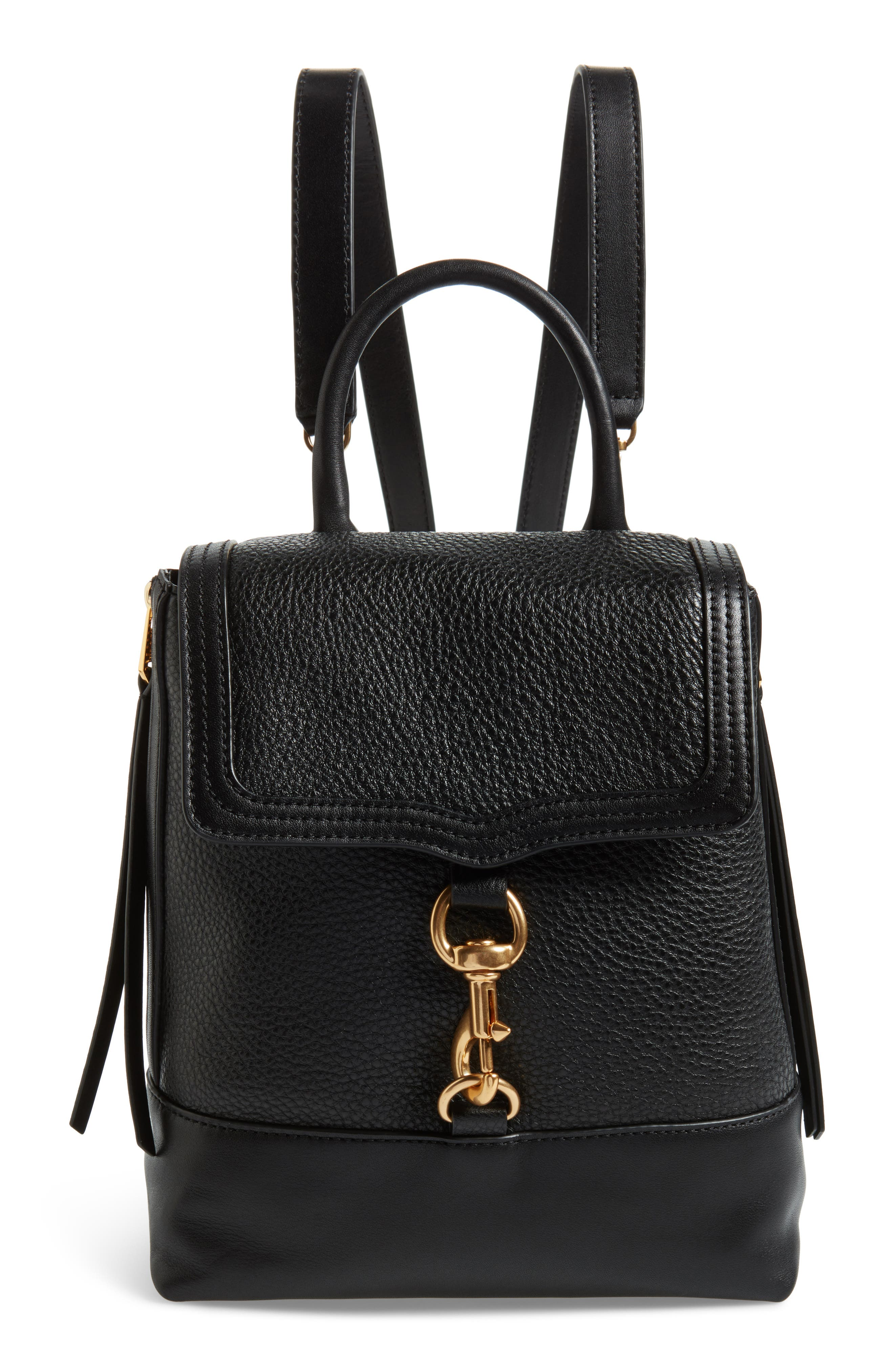 Bree Leather Convertible Backpack,                             Main thumbnail 1, color,