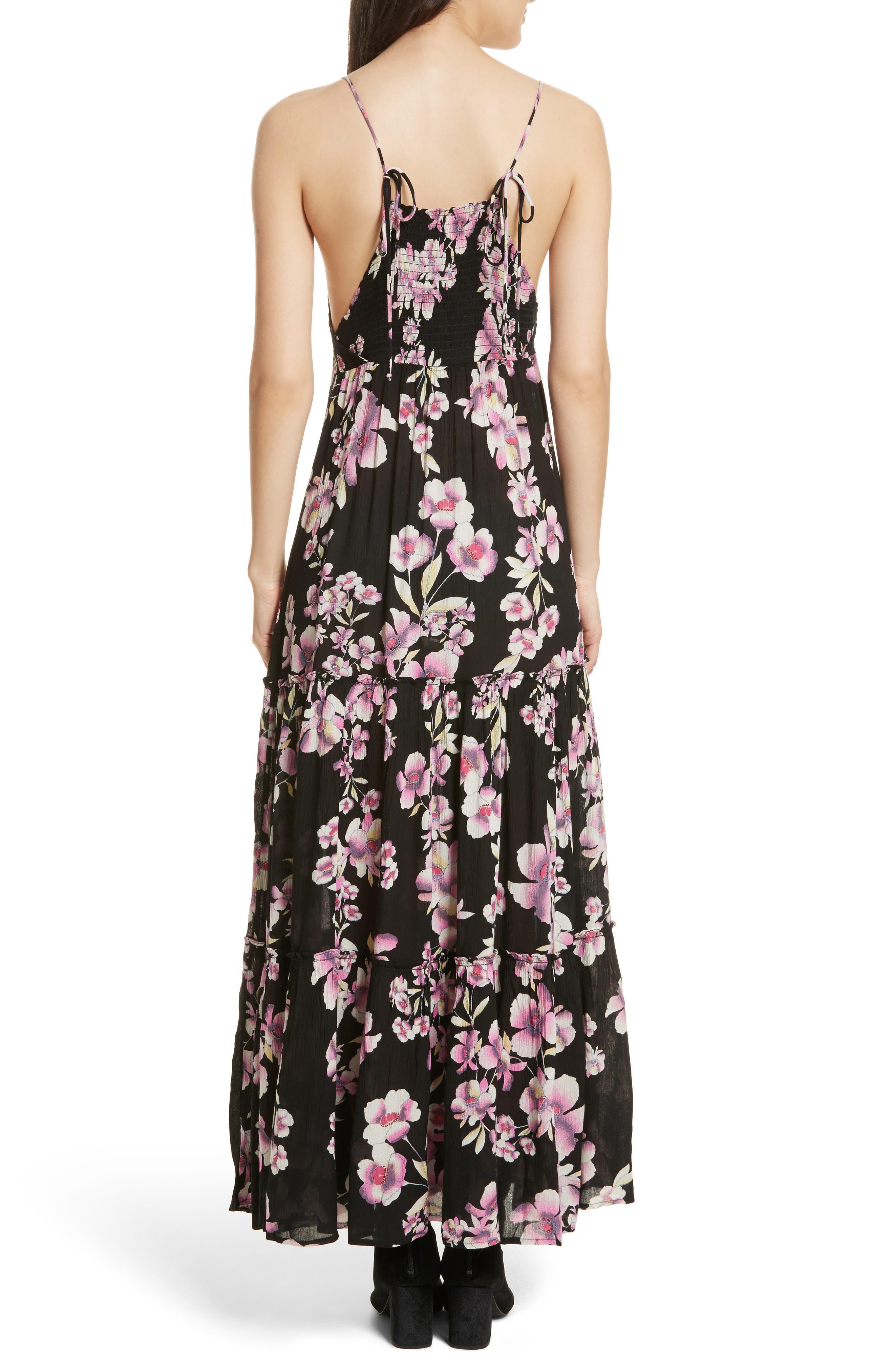 Garden Party Maxi Dress,                             Alternate thumbnail 8, color,
