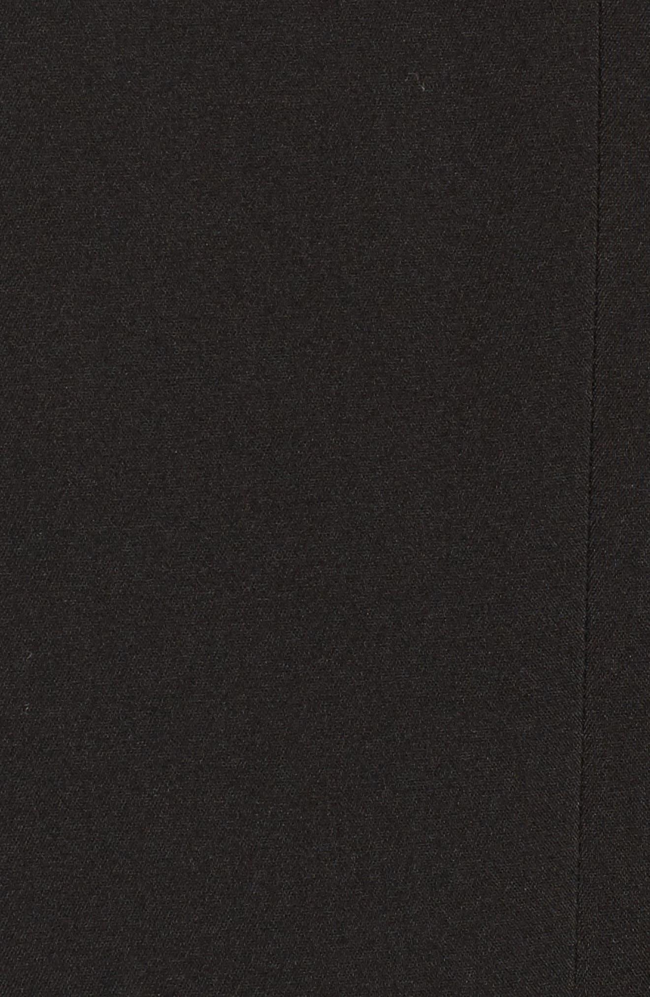 Drape Jacket,                             Alternate thumbnail 6, color,                             BLACK