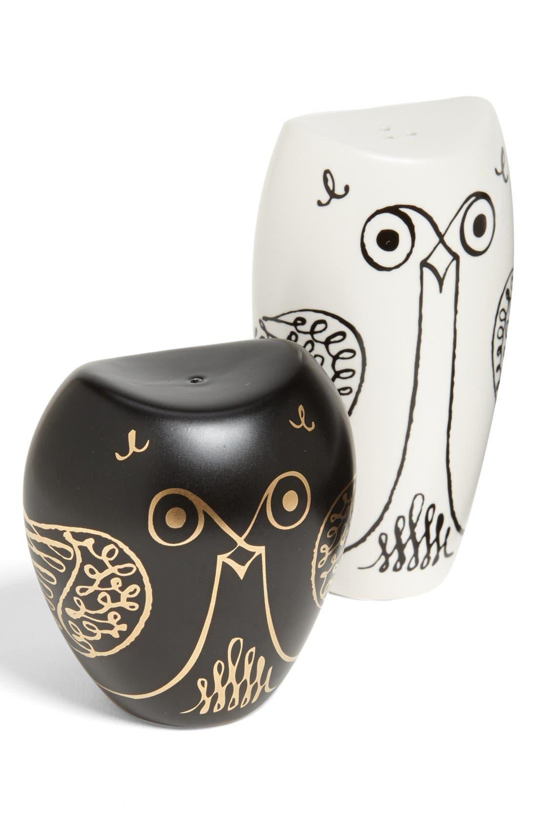 owl salt & pepper shakers,                             Main thumbnail 1, color,                             100