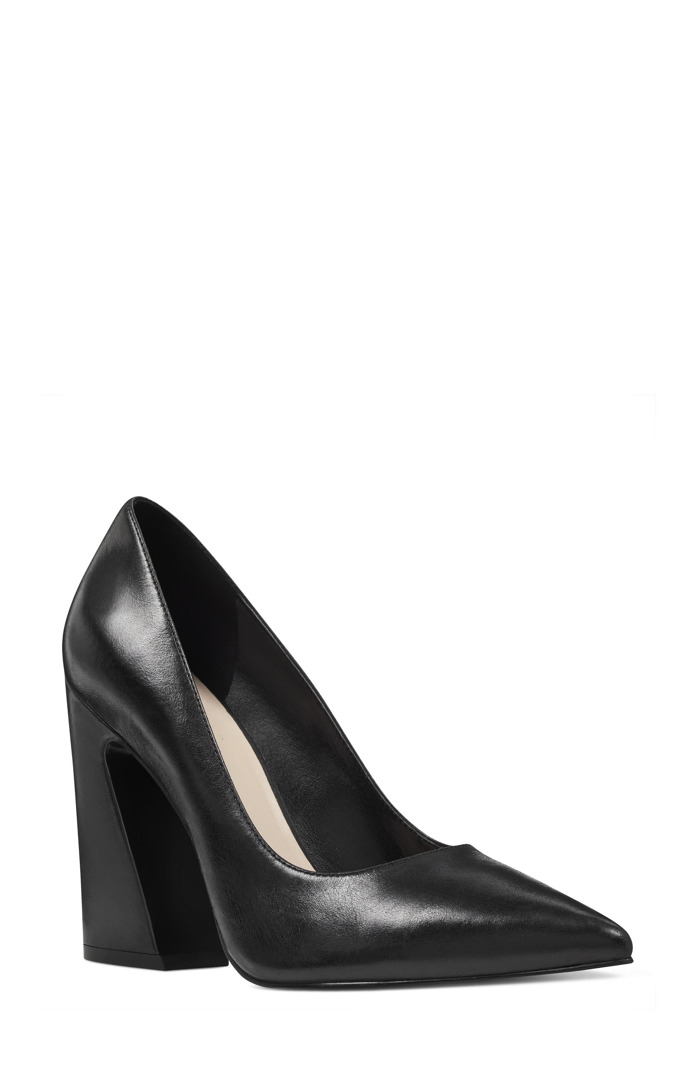 NINE WEST Henra Pointy Toe Pump, Main, color, 001