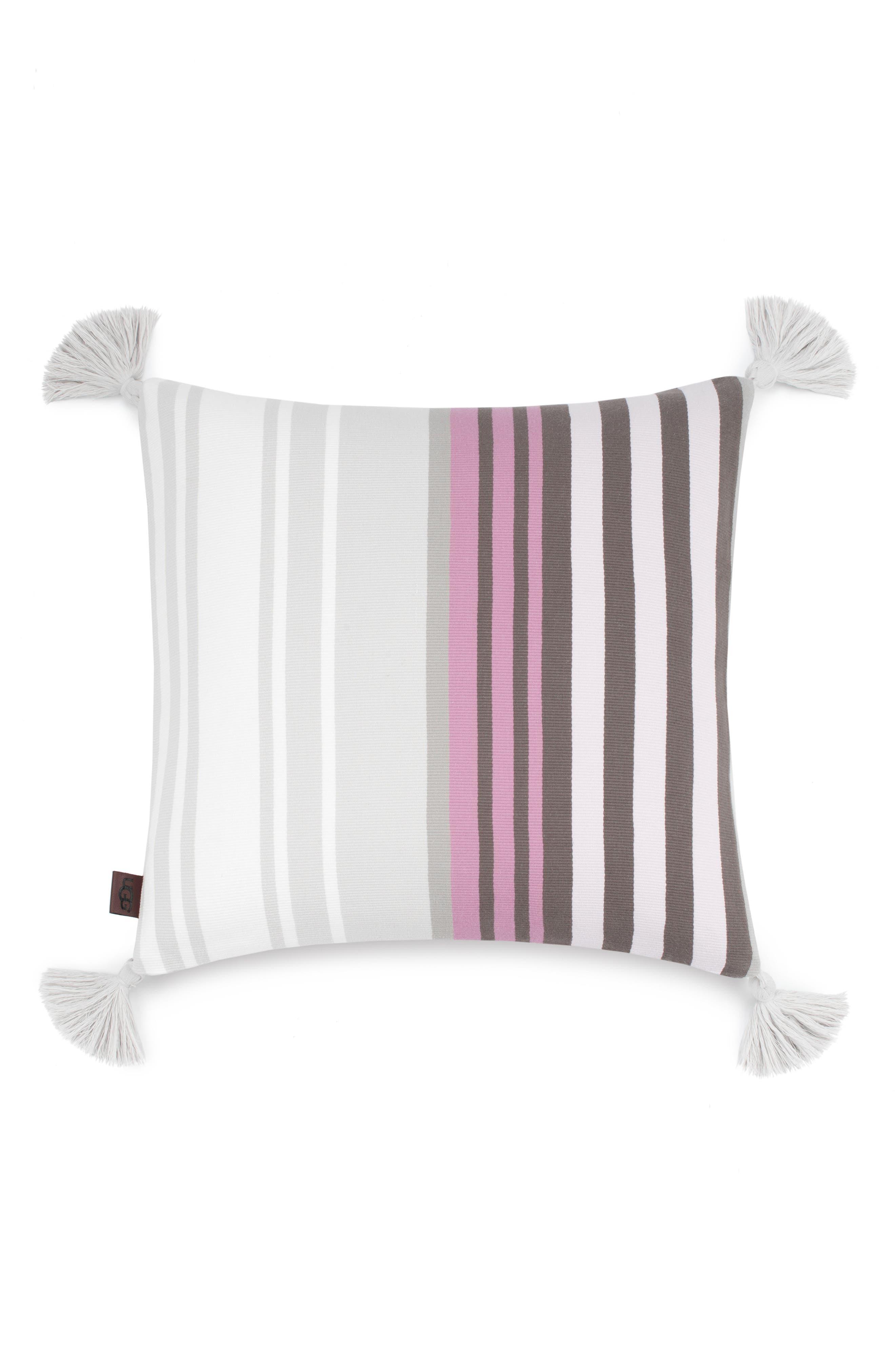 Hammond Stripe Pillow,                             Main thumbnail 3, color,