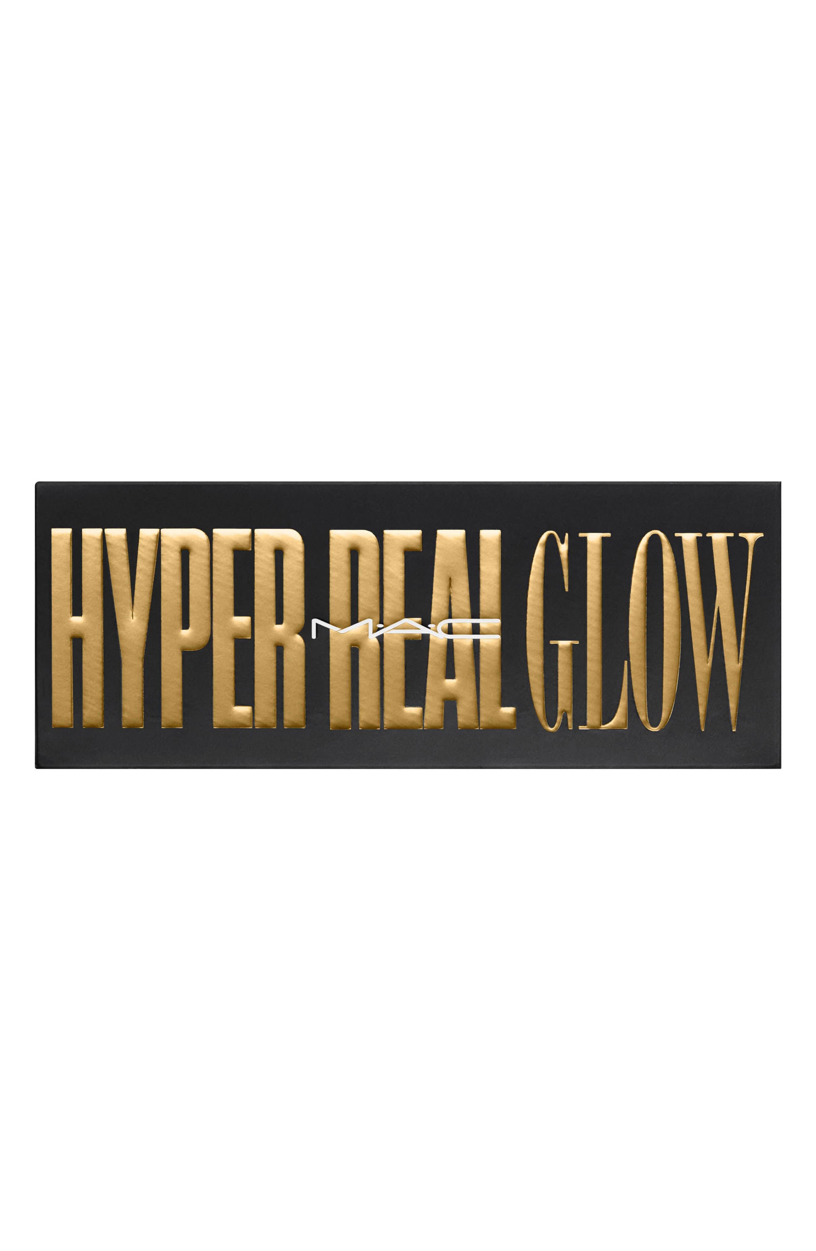 MAC Hyper Real Glow Palette,                             Alternate thumbnail 3, color,                             GET IT GLOWIN