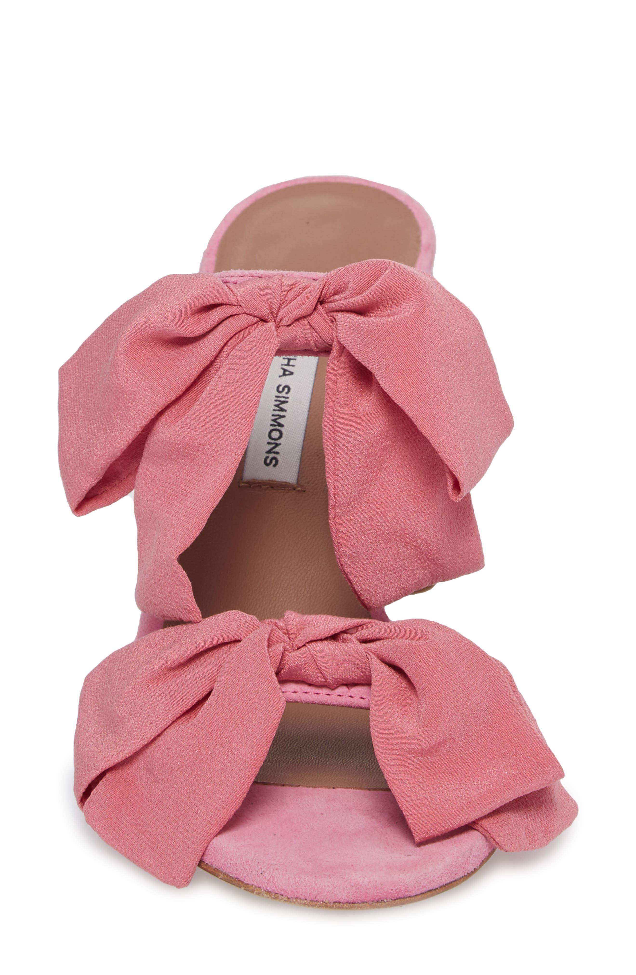 Barbi Bow Sandal,                             Alternate thumbnail 8, color,