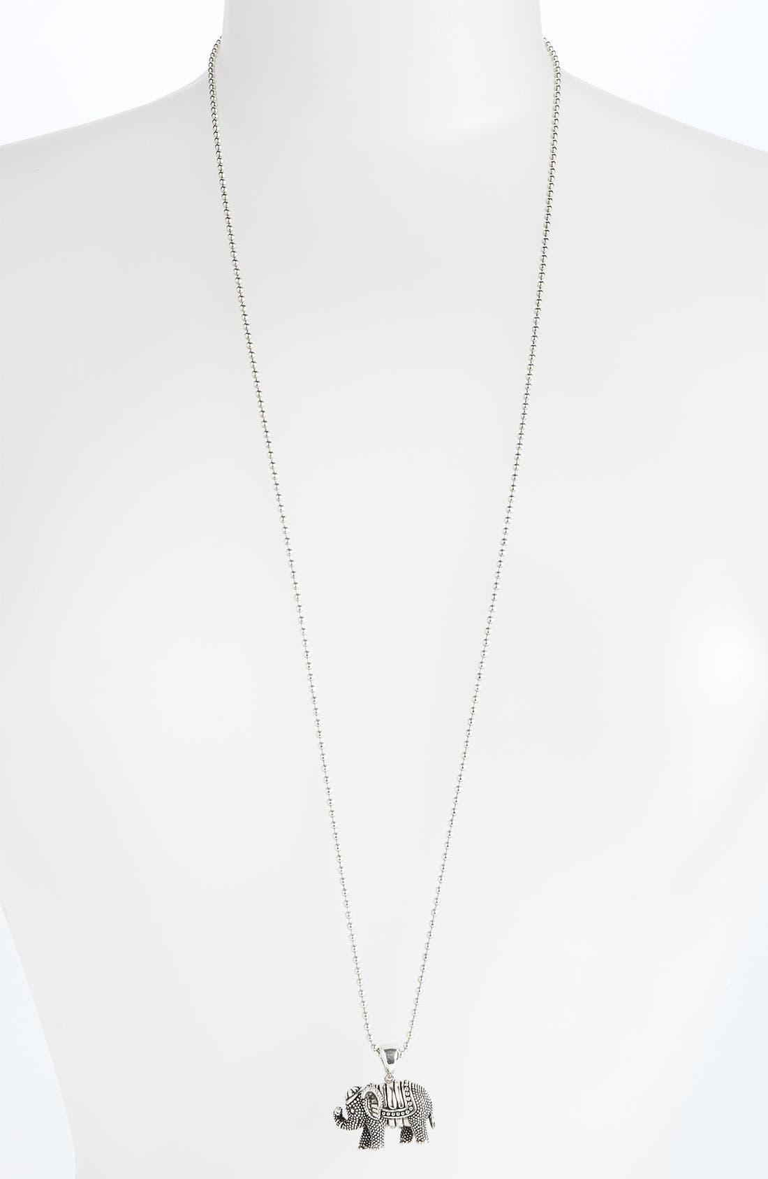 'Rare Wonders - Turtle' Long Talisman Necklace,                             Alternate thumbnail 3, color,                             040