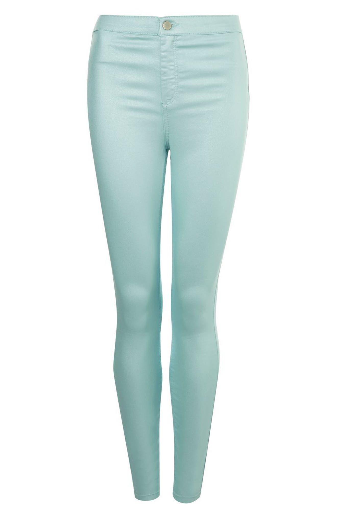 Joni Shimmer Skinny Jeans,                             Alternate thumbnail 3, color,