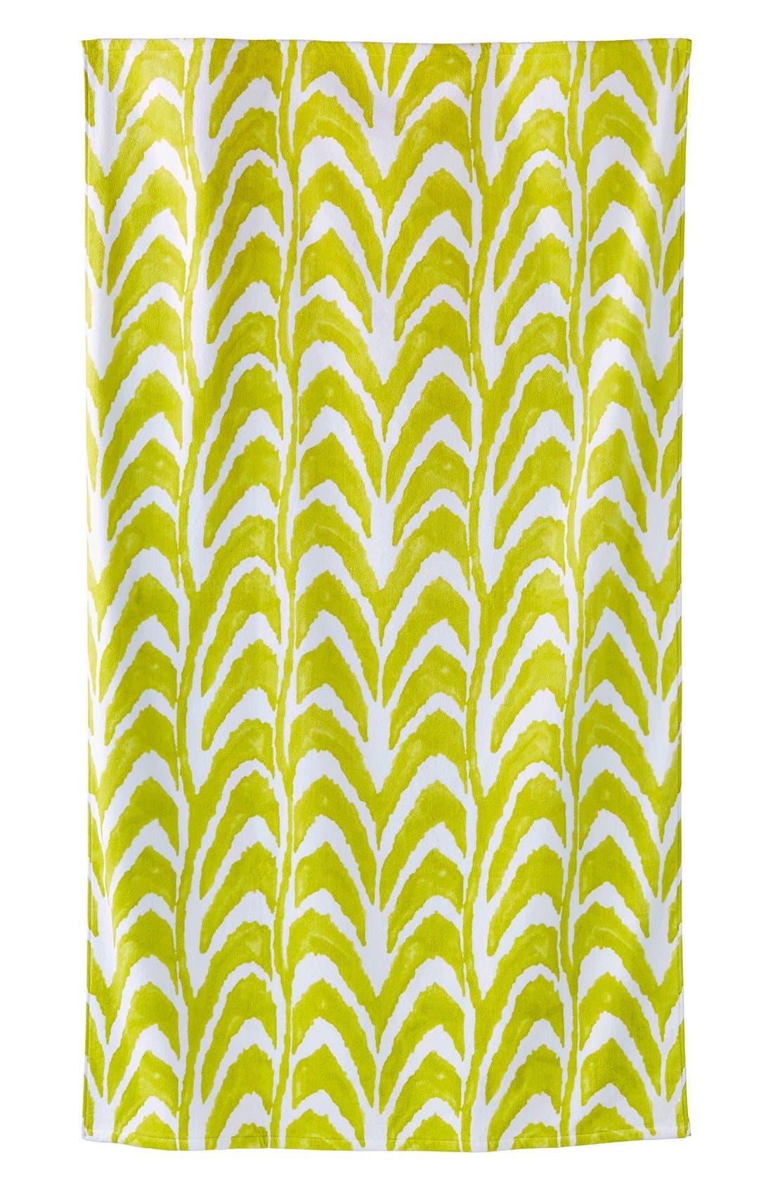 'Imrita' Wave Pattern Beach Towel,                             Main thumbnail 1, color,                             300