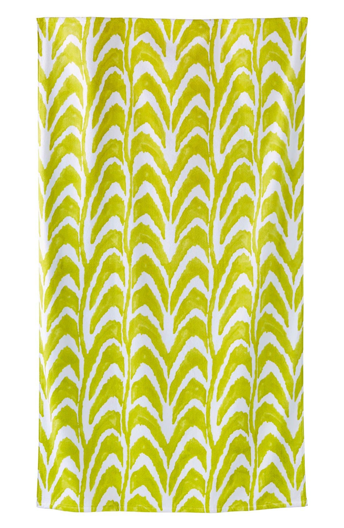 JOHN ROBSHAW 'Imrita' Wave Pattern Beach Towel, Main, color, 300