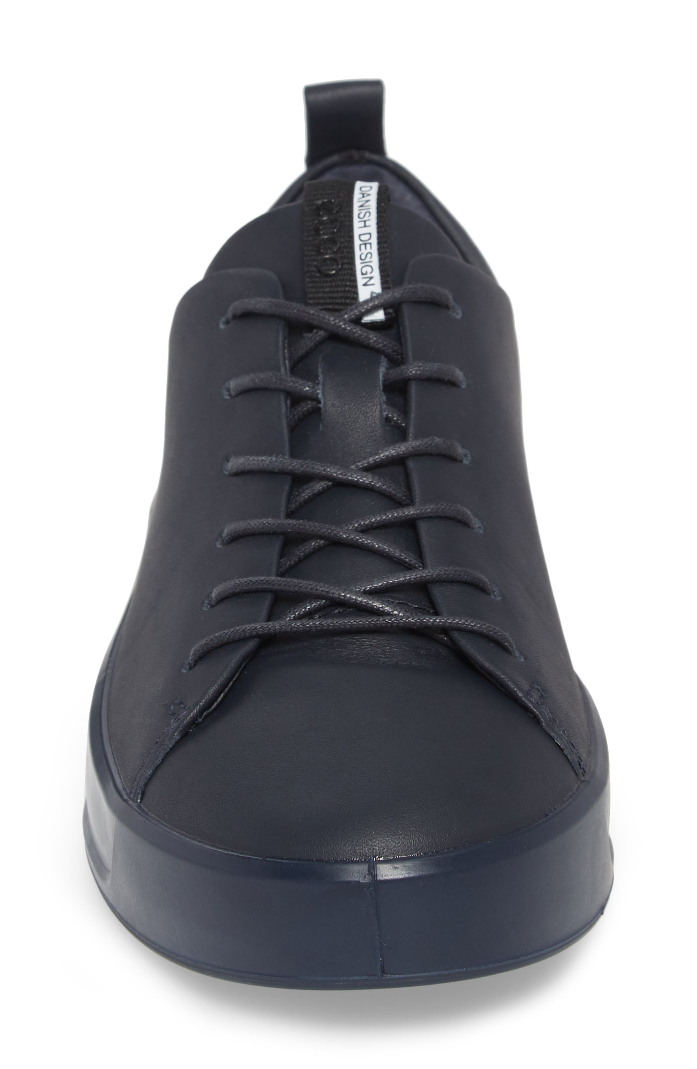 Soft 8 Sneaker,                             Alternate thumbnail 4, color,                             NIGHT SKY LEATHER