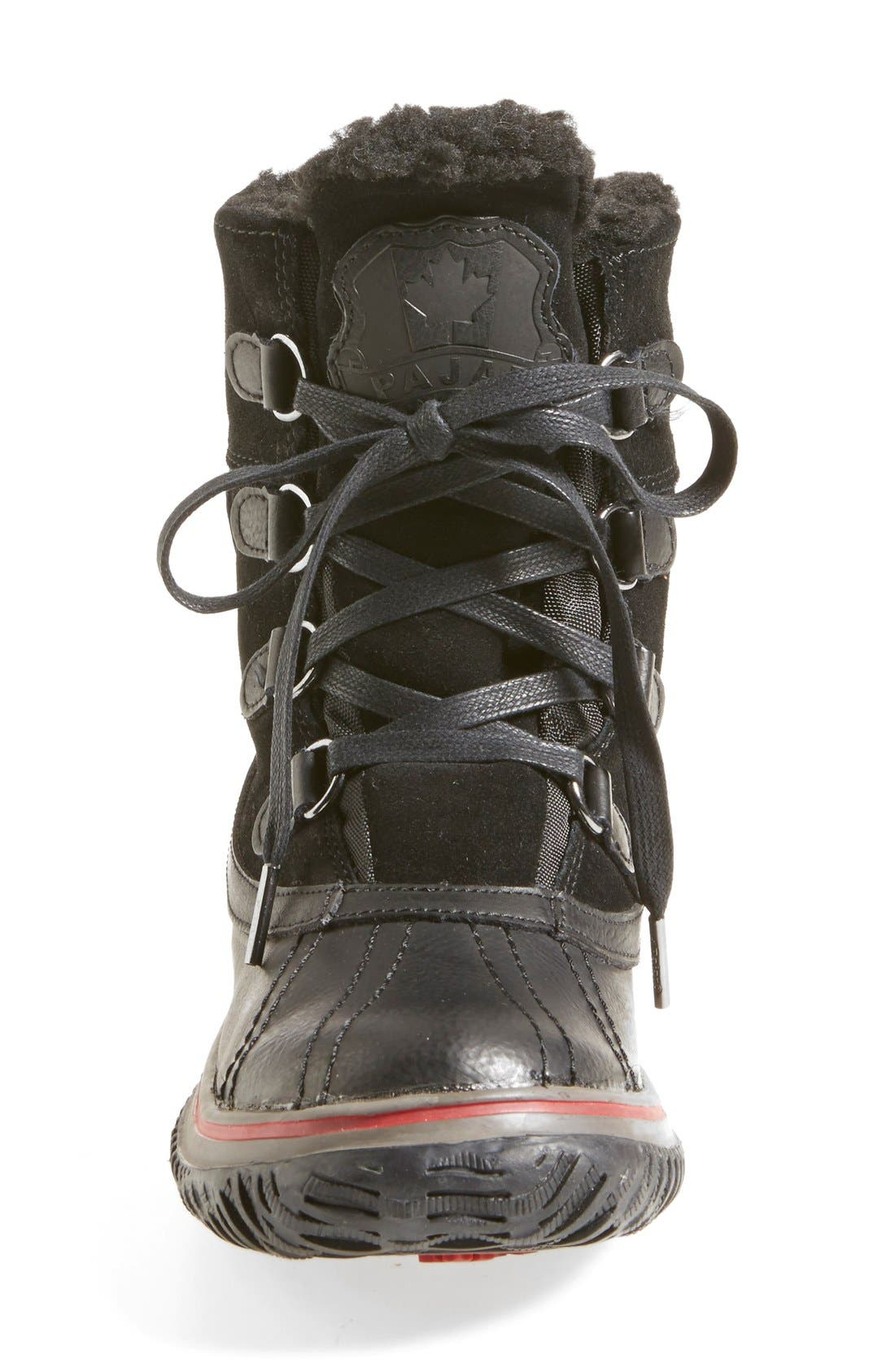 'Iceland' Winter Boot,                             Alternate thumbnail 4, color,                             001