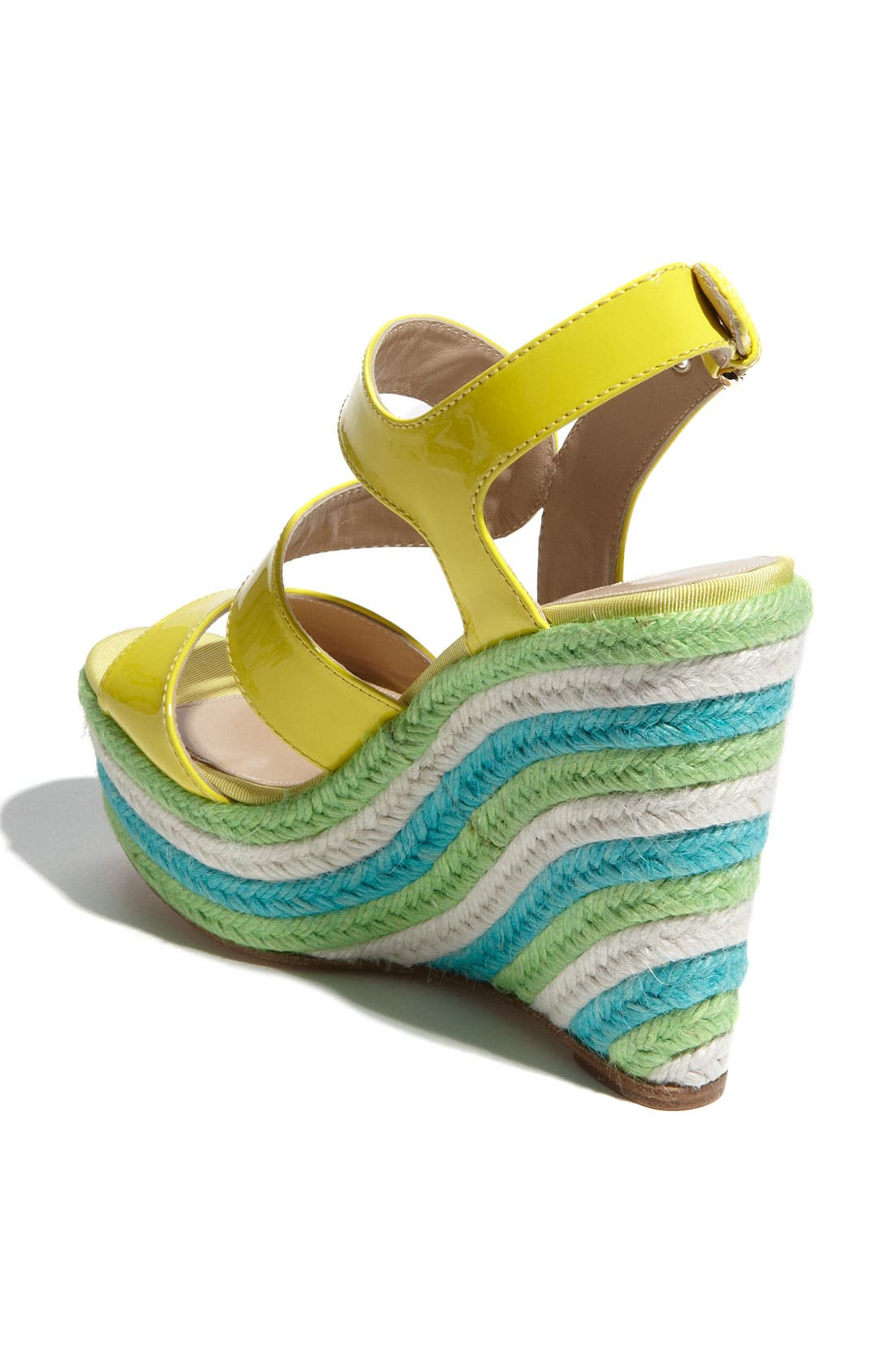 'Ariane' Espadrille Wedge Sandal,                             Alternate thumbnail 2, color,