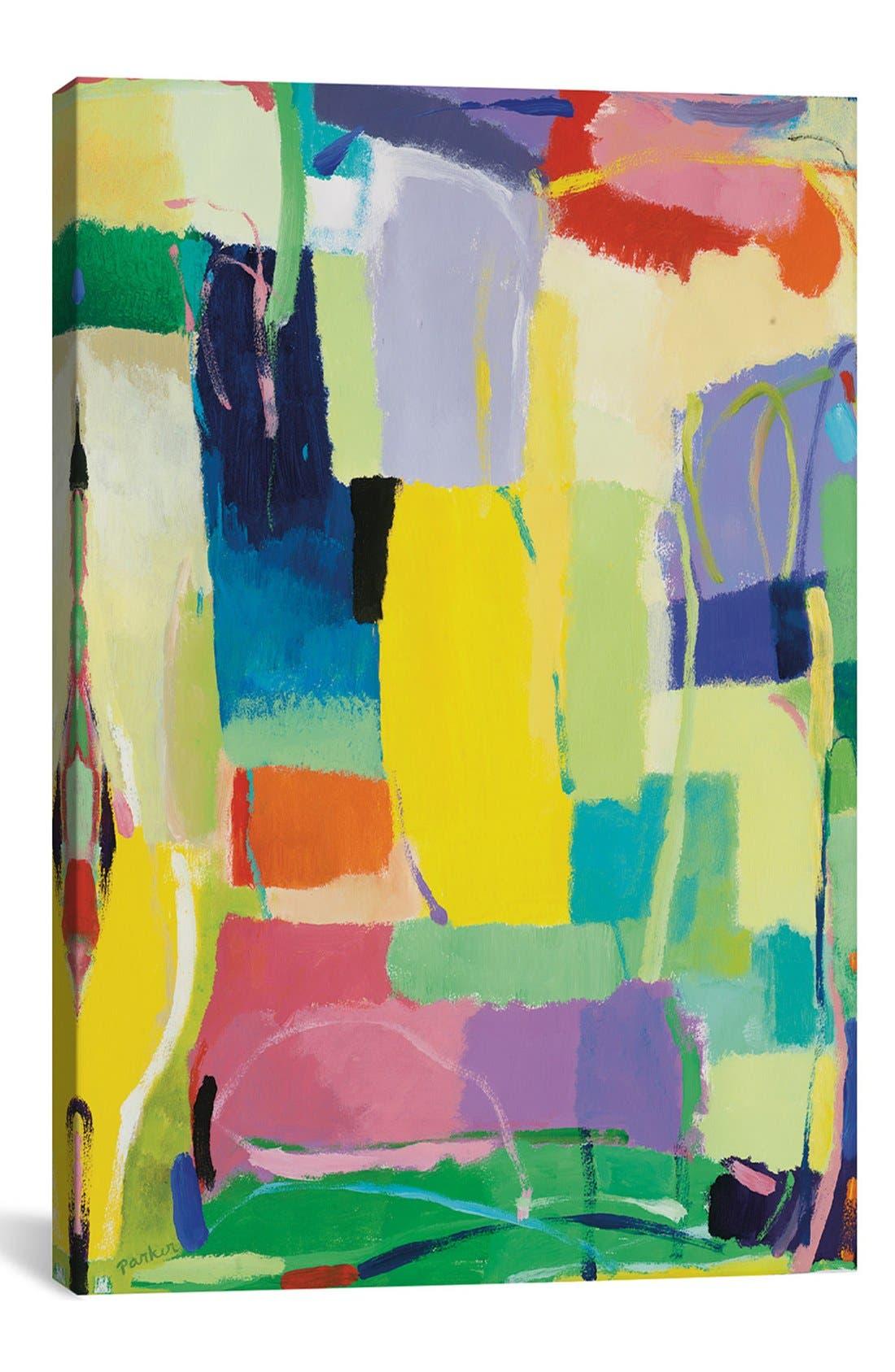 'Urban Essay XV' Giclée Print Canvas Art,                             Main thumbnail 1, color,                             GREEN