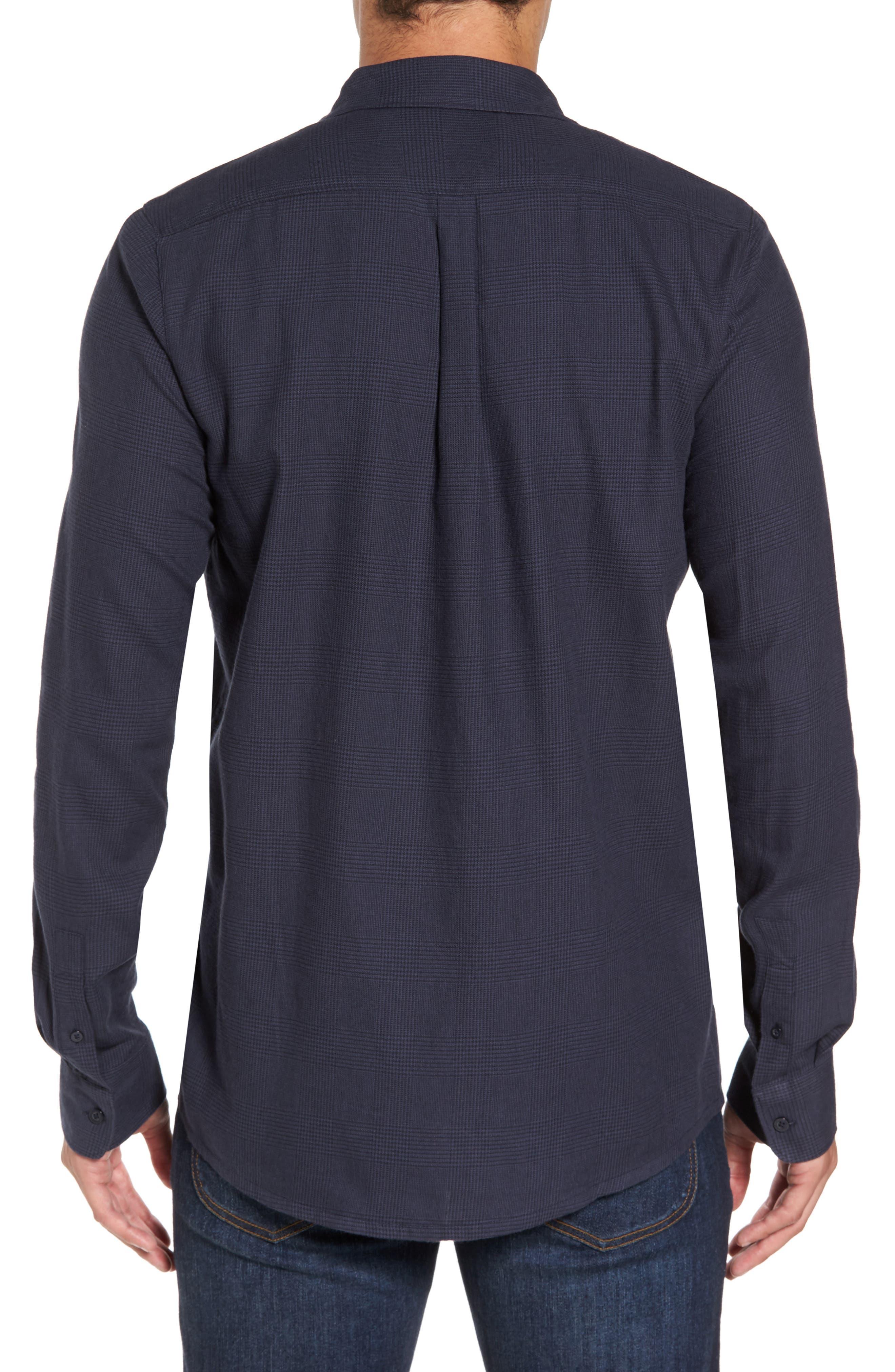 Overly Glen Plaid Sport Shirt,                             Alternate thumbnail 2, color,                             400