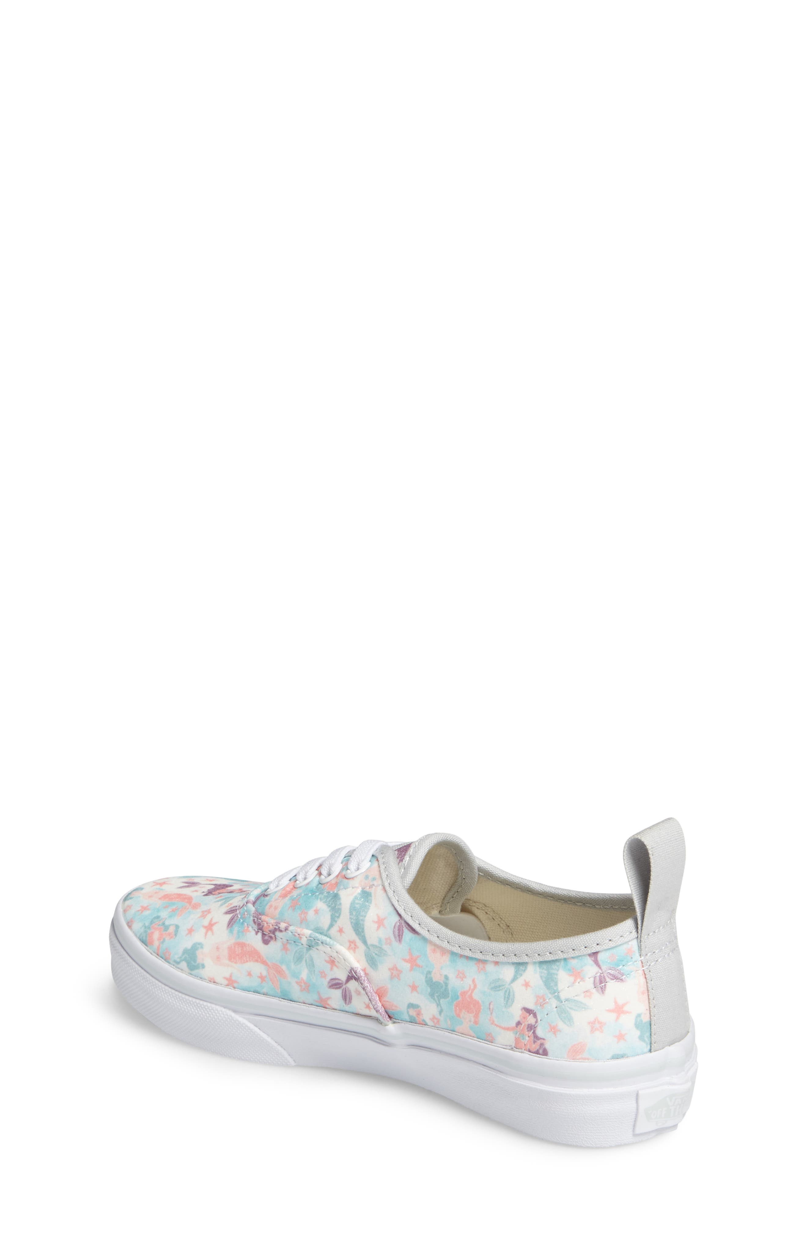 Authentic Elastic Lace Sneaker,                             Alternate thumbnail 2, color,                             300