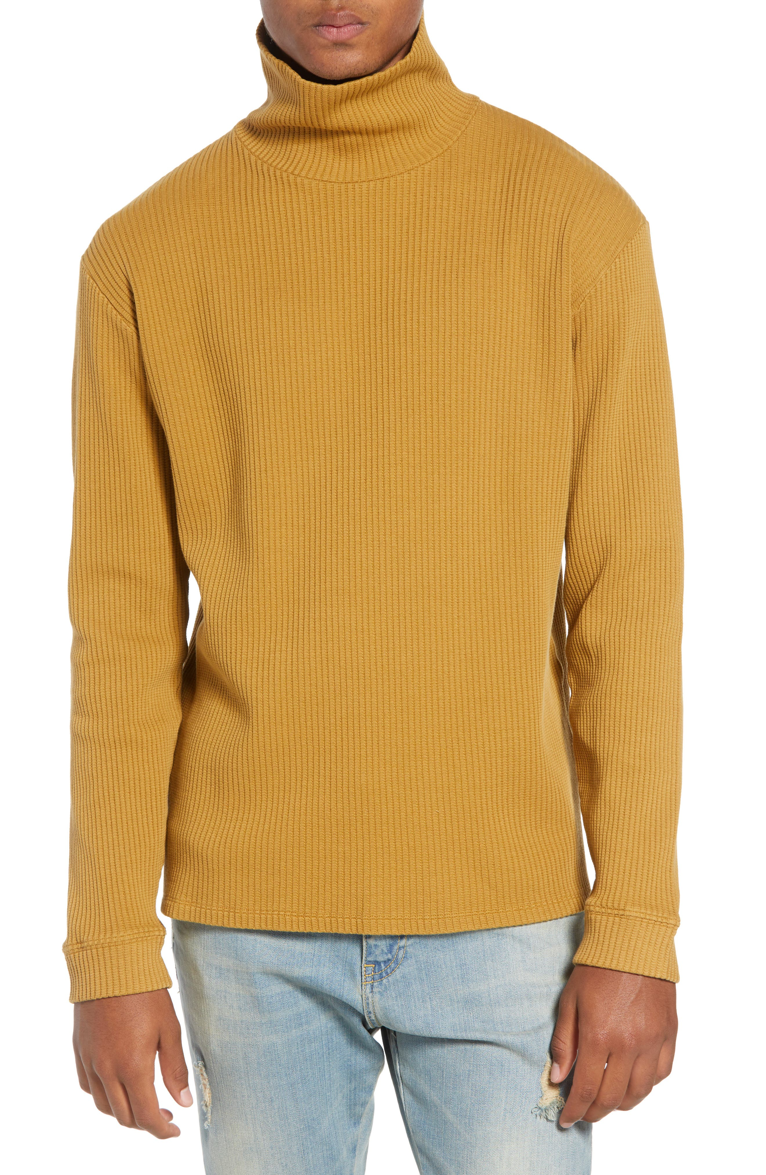 Henrik Turtleneck Sweater,                         Main,                         color, BURNT KHAKI