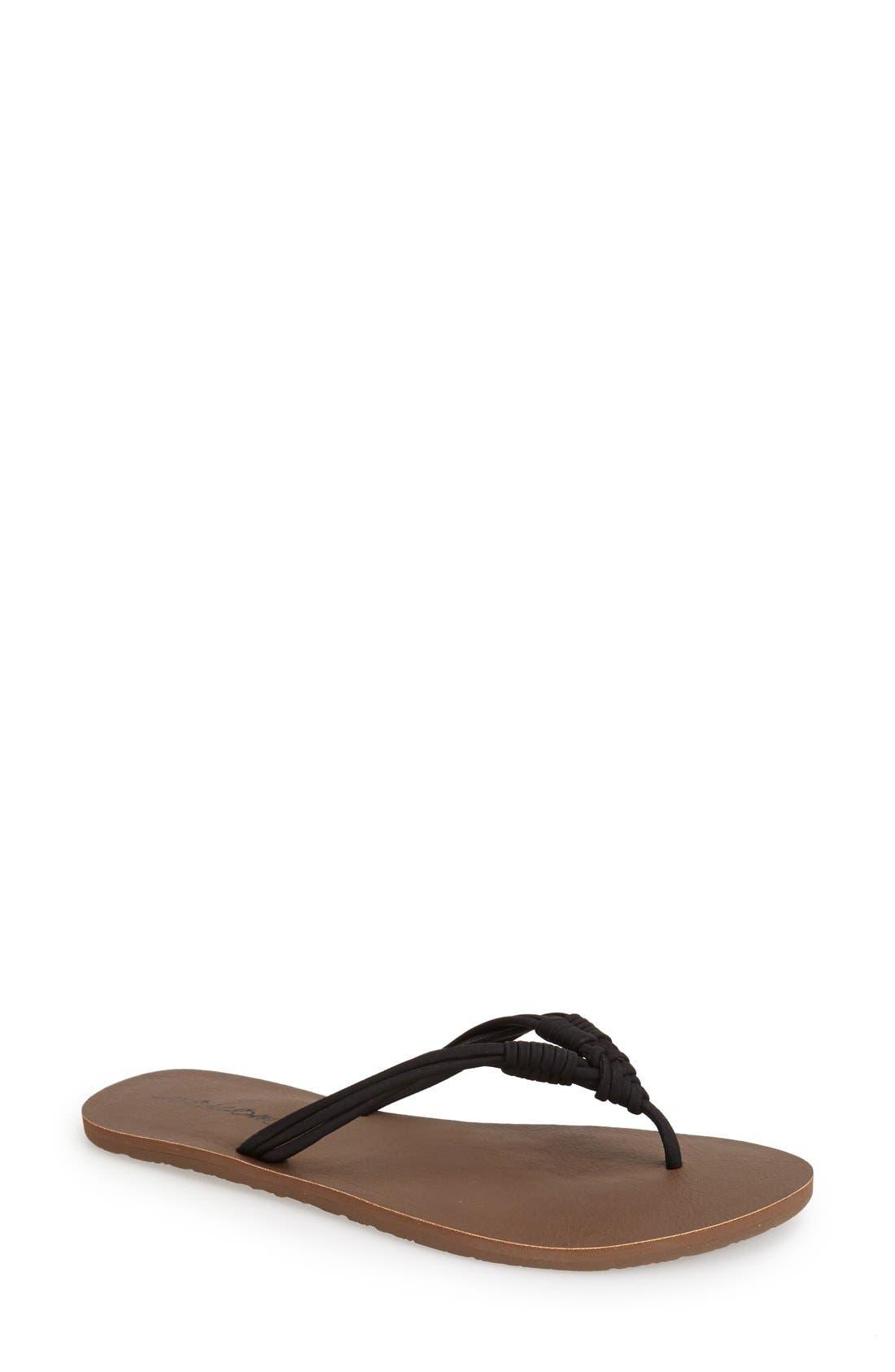 'Have Fun' Thong Sandal, Main, color, 001
