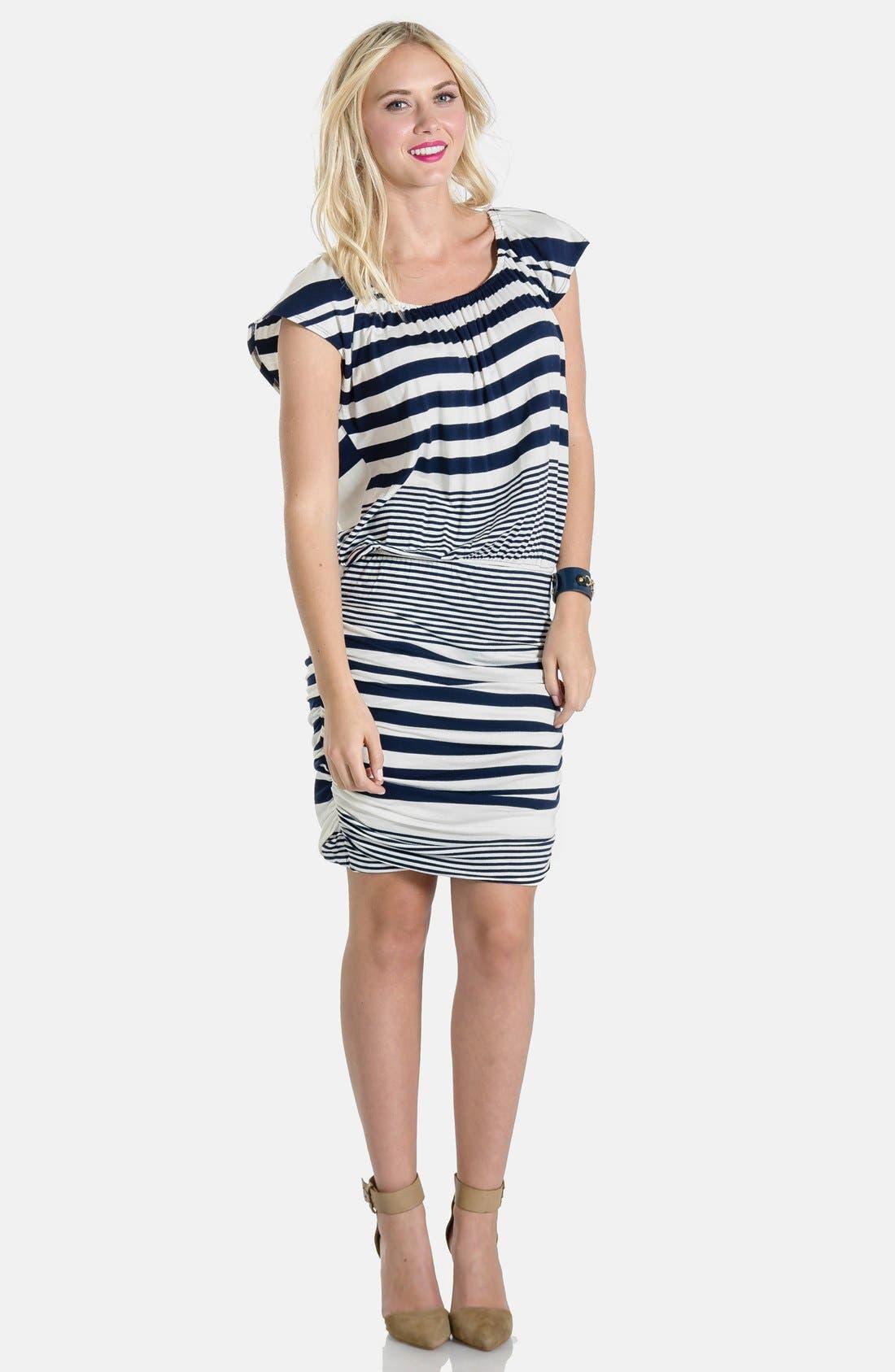 LILAC CLOTHING,                             'Mila' Maternity Dress,                             Alternate thumbnail 2, color,                             410