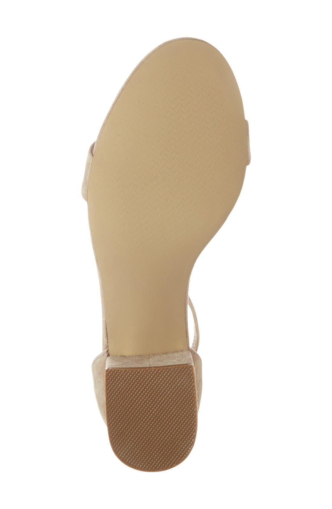 Irenee Ankle Strap Sandal,                             Alternate thumbnail 105, color,
