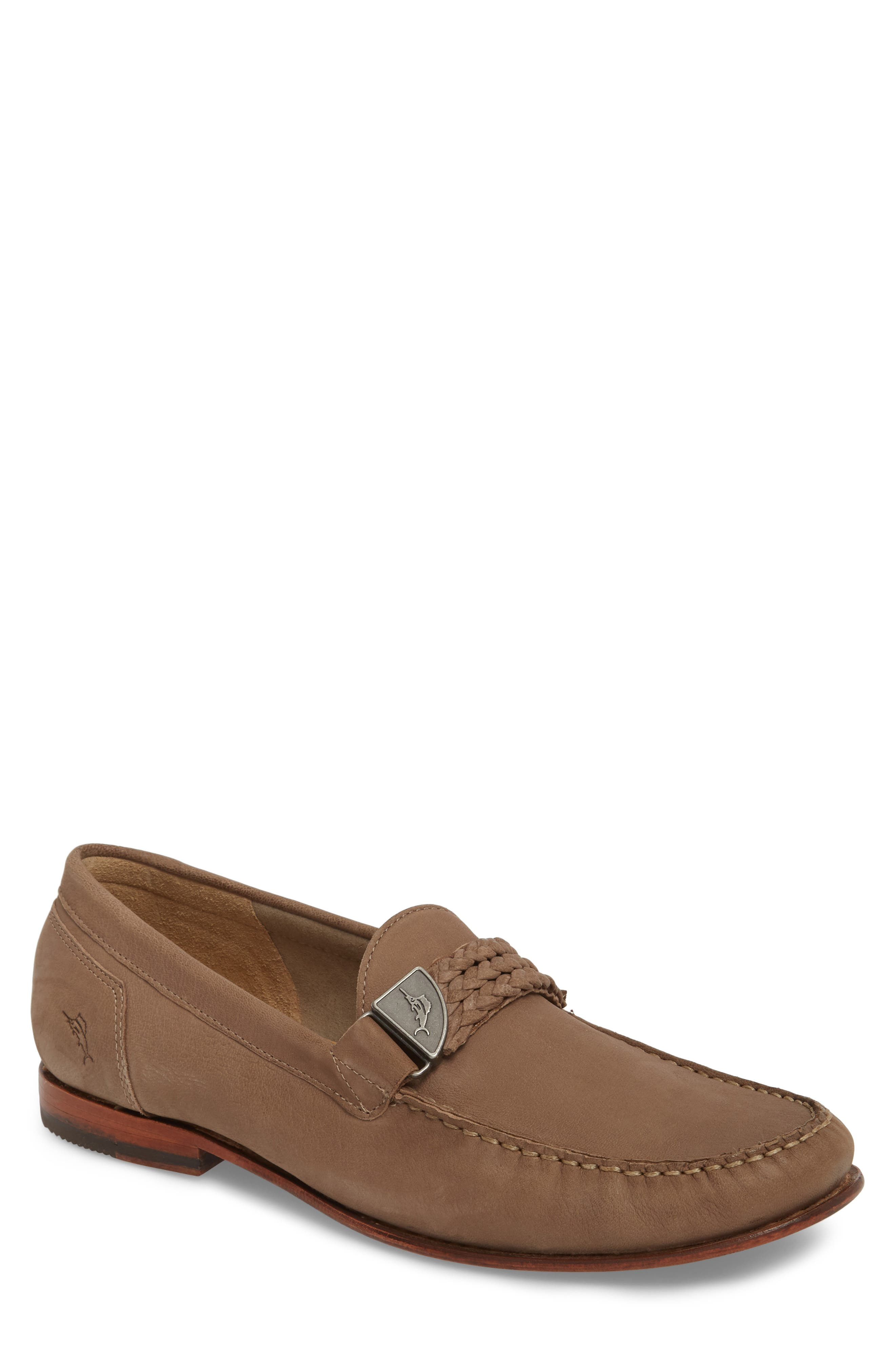 Castington Loafer,                         Main,                         color, TAUPE NUBUCK