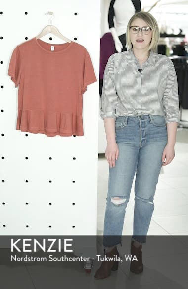 Peplum Tee, sales video thumbnail