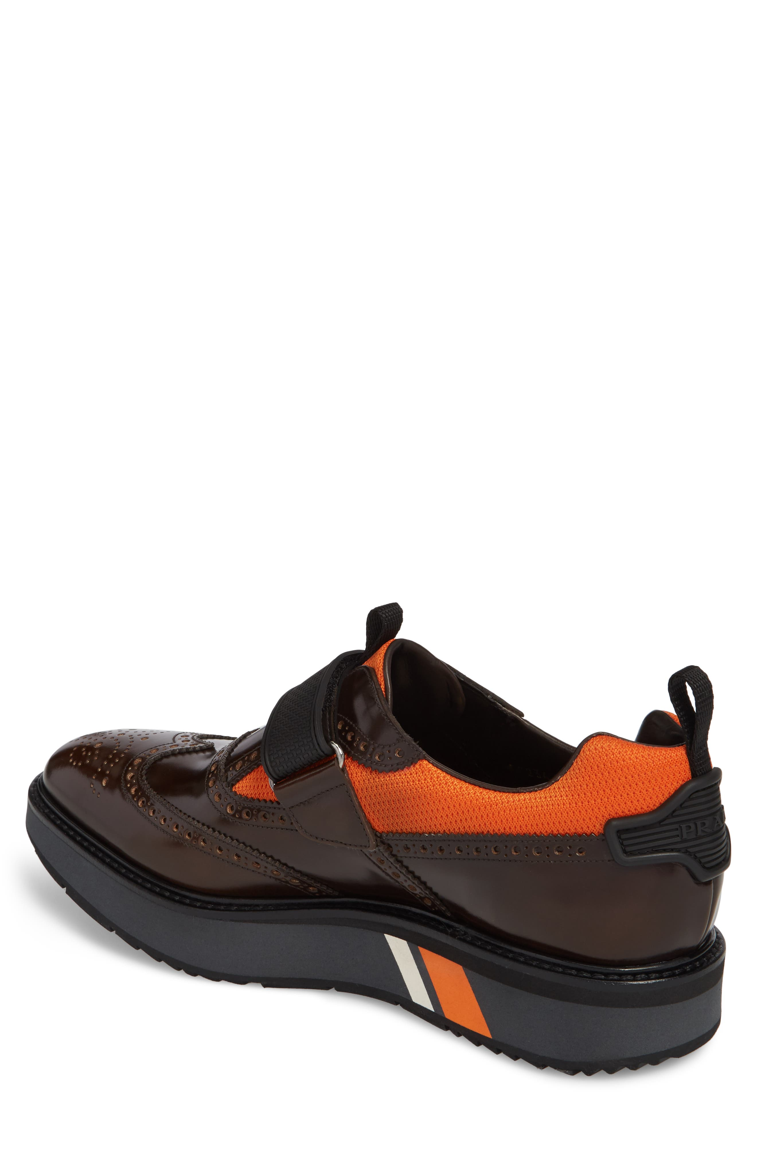 Strap Wingtip Sneaker,                             Alternate thumbnail 2, color,                             200