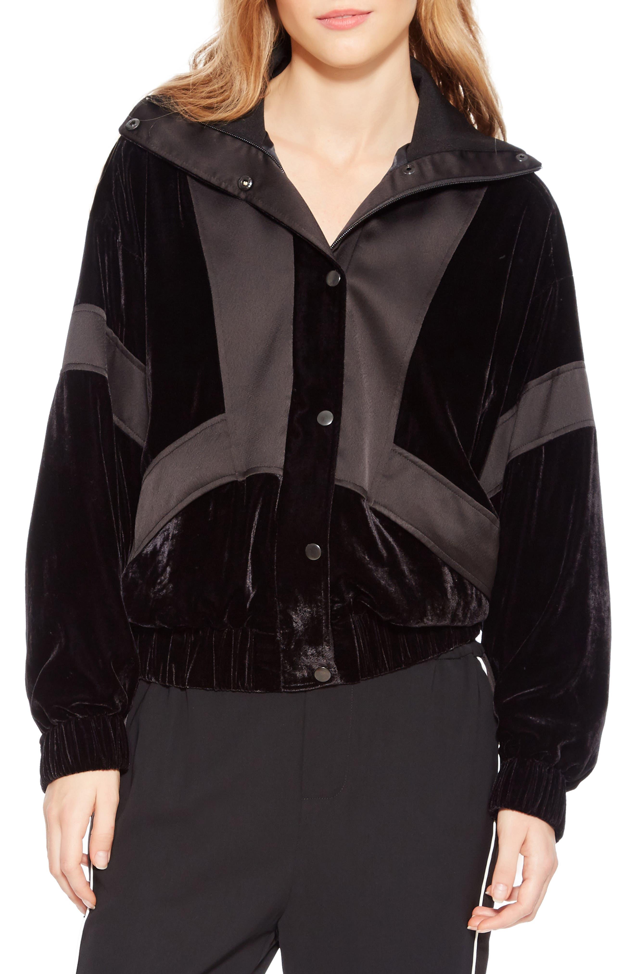 Hollis Jacket,                             Main thumbnail 1, color,                             BLACK