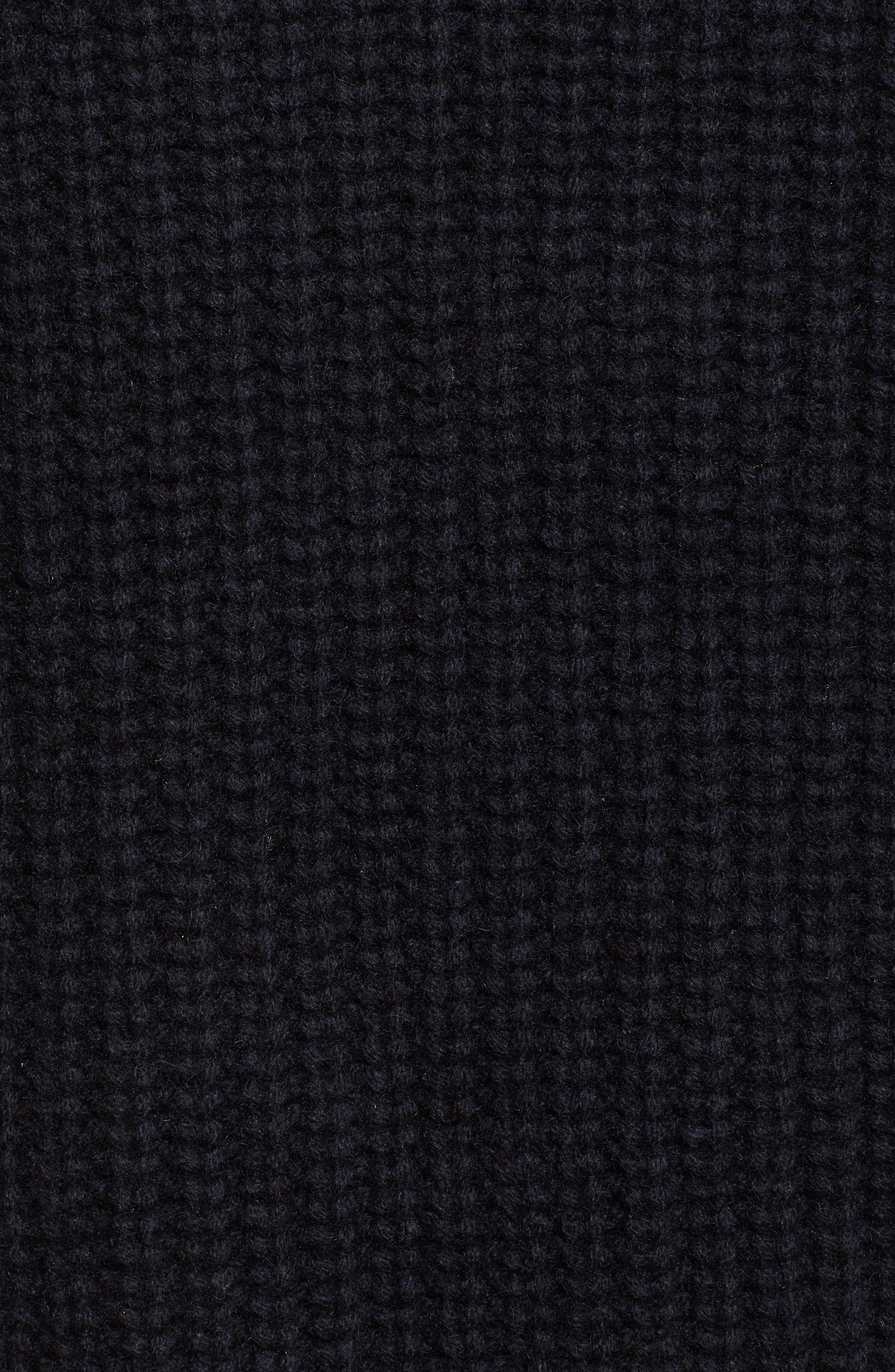 Nicole Velvet Tie Sweater Dress,                             Alternate thumbnail 6, color,                             400