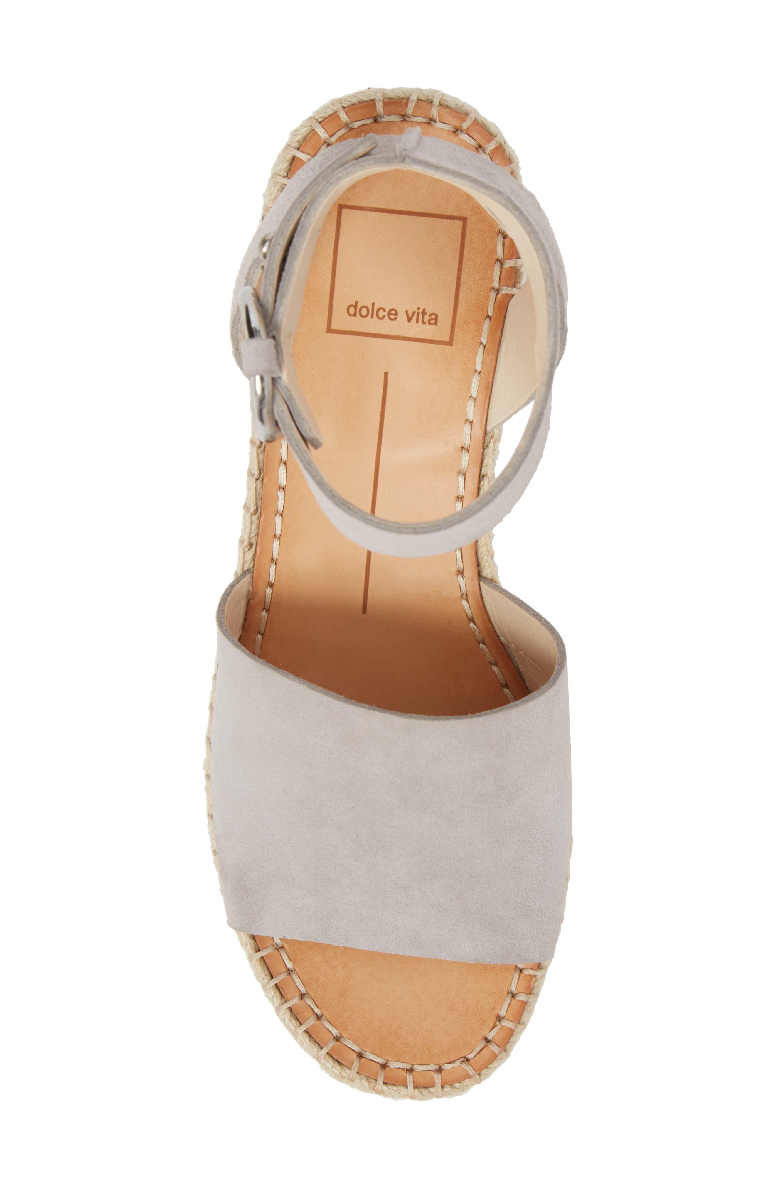 Lesly Espadrille Platform Sandal,                             Alternate thumbnail 31, color,
