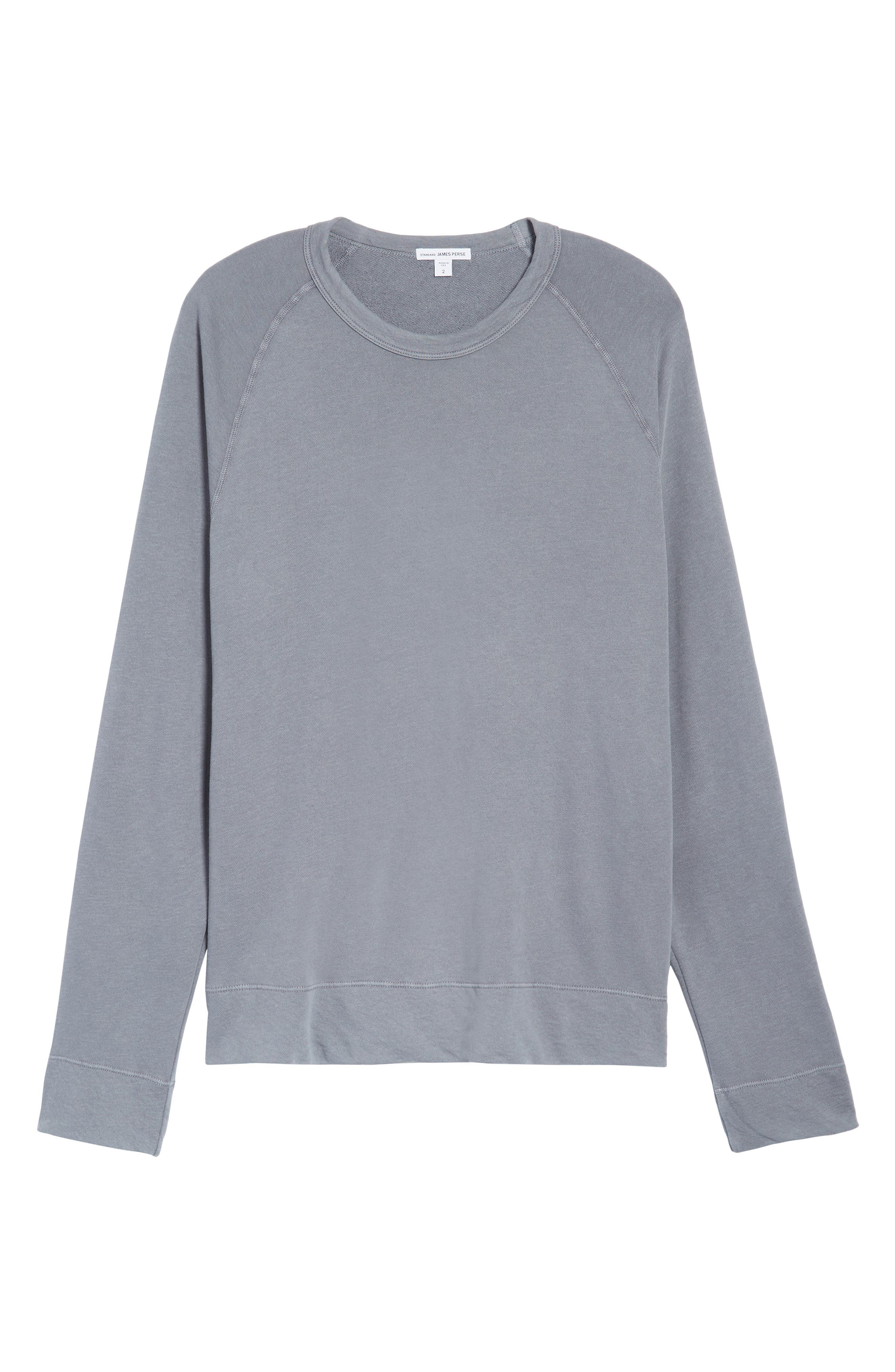 Raglan Crewneck Sweatshirt,                             Alternate thumbnail 6, color,                             029