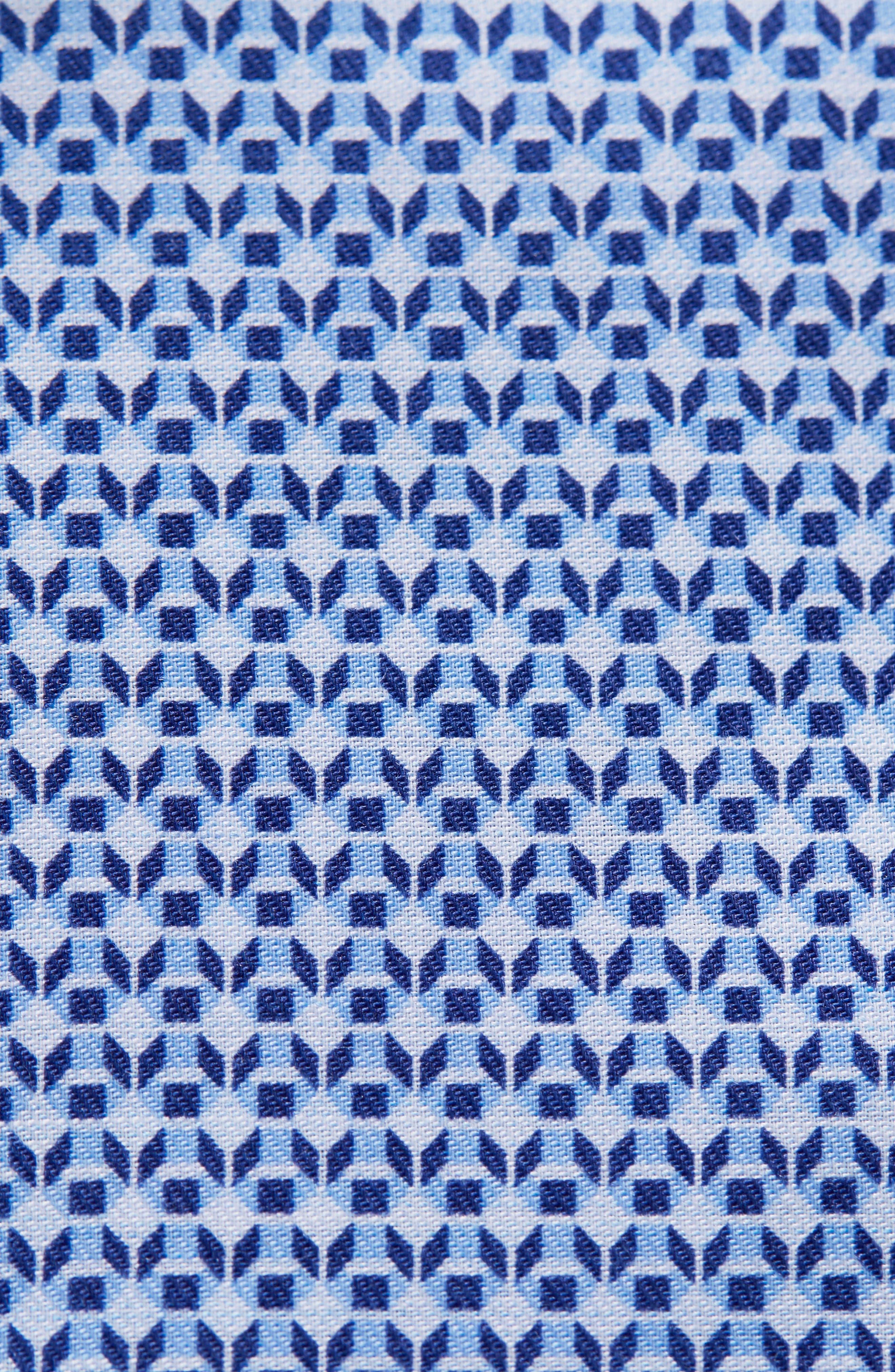 Contemporary Fit Pattern Dress Shirt,                             Alternate thumbnail 2, color,                             400