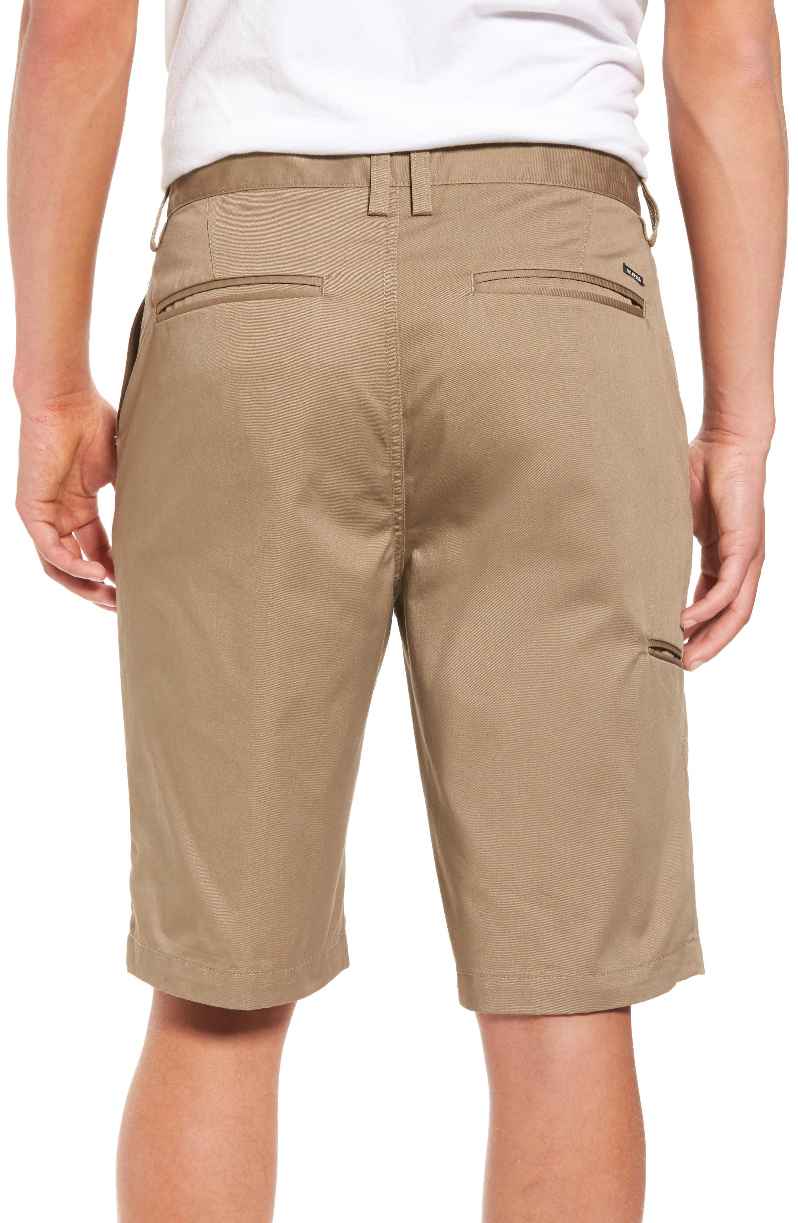 Carter Stretch Twill Shorts,                             Alternate thumbnail 6, color,