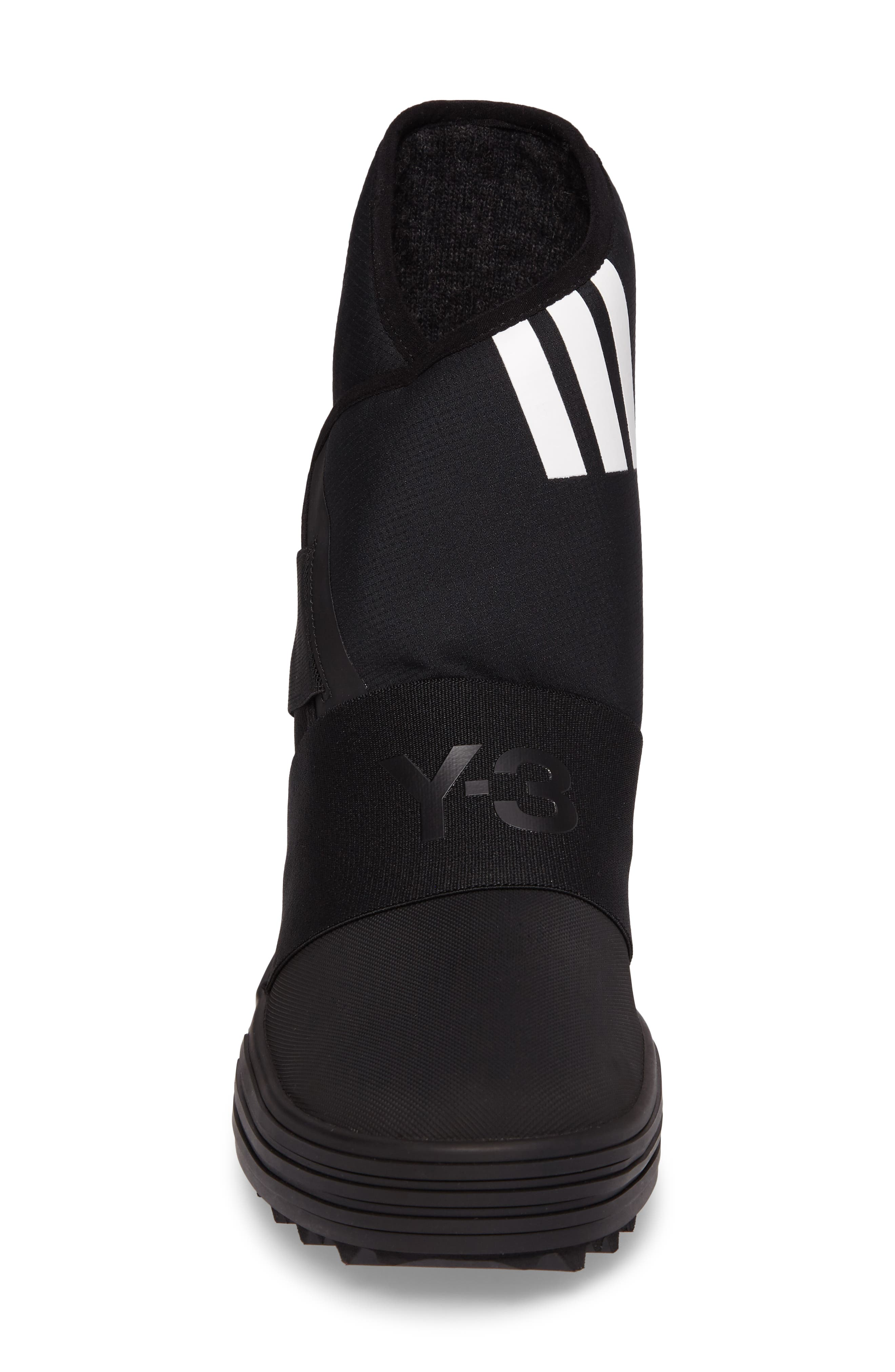 Sno Foxing High Top Sneaker,                             Alternate thumbnail 4, color,                             001