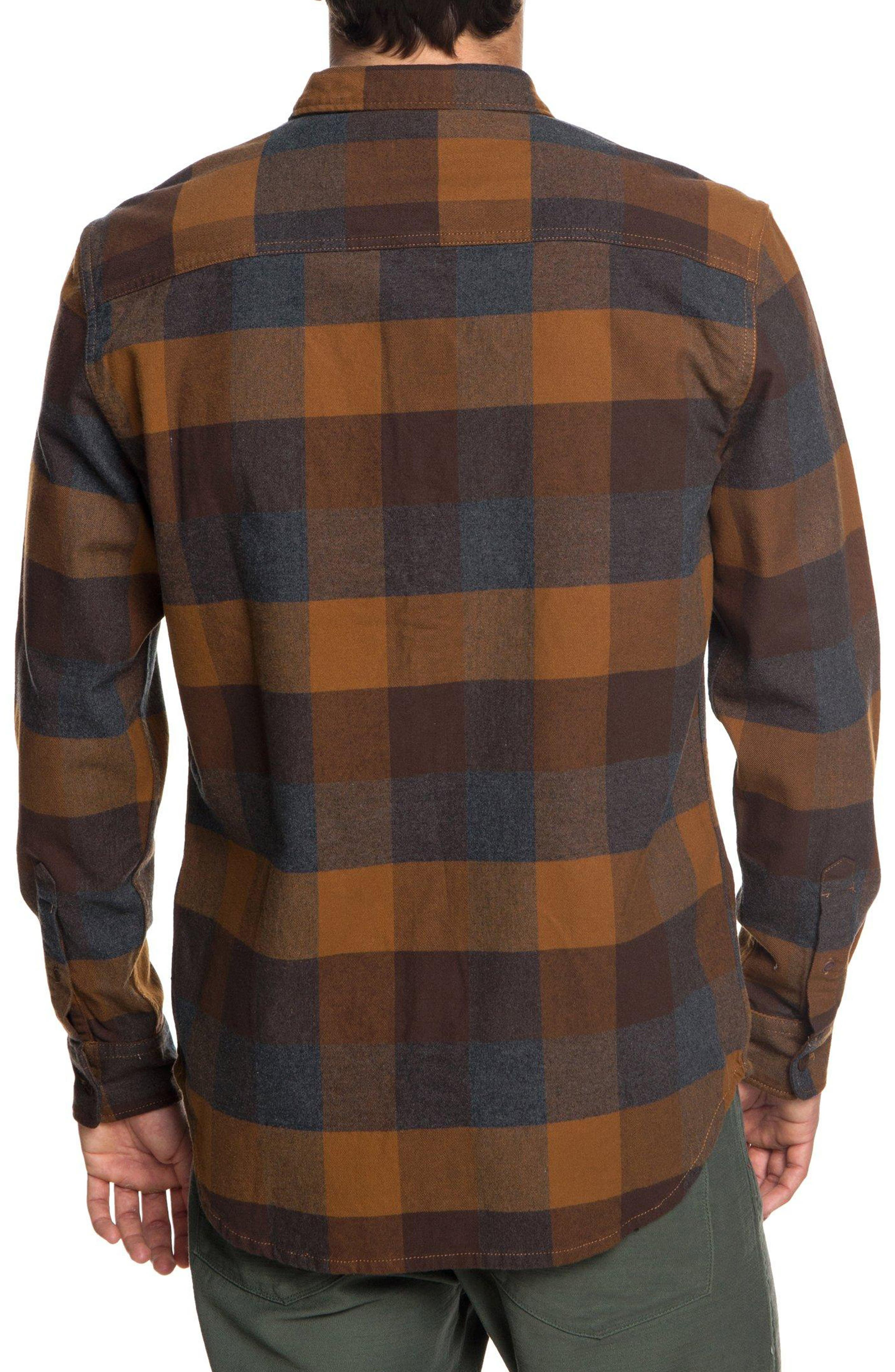 Stretch Flannel Shirt,                             Alternate thumbnail 2, color,                             208