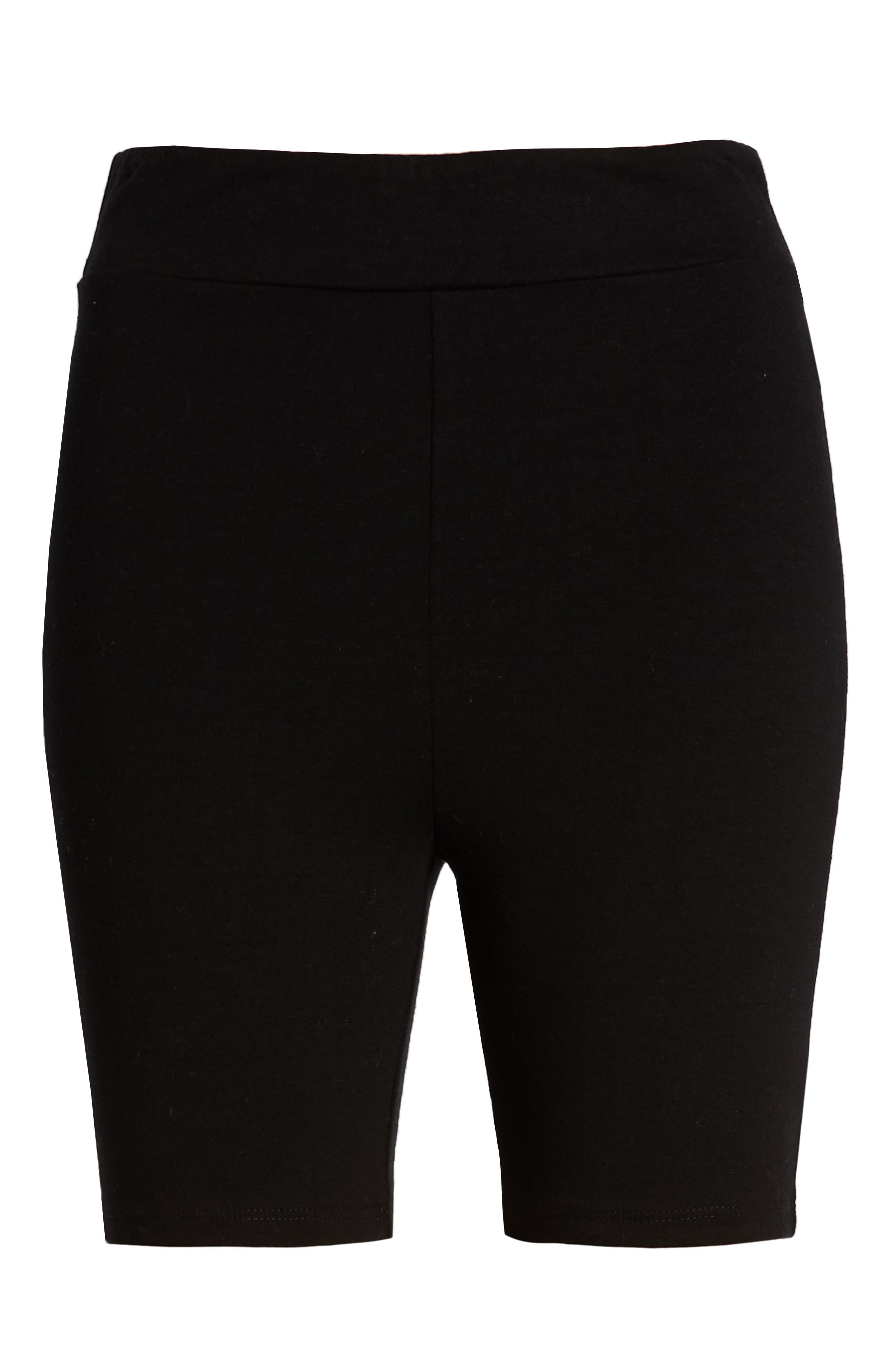 Bike Shorts,                             Alternate thumbnail 6, color,                             BLACK