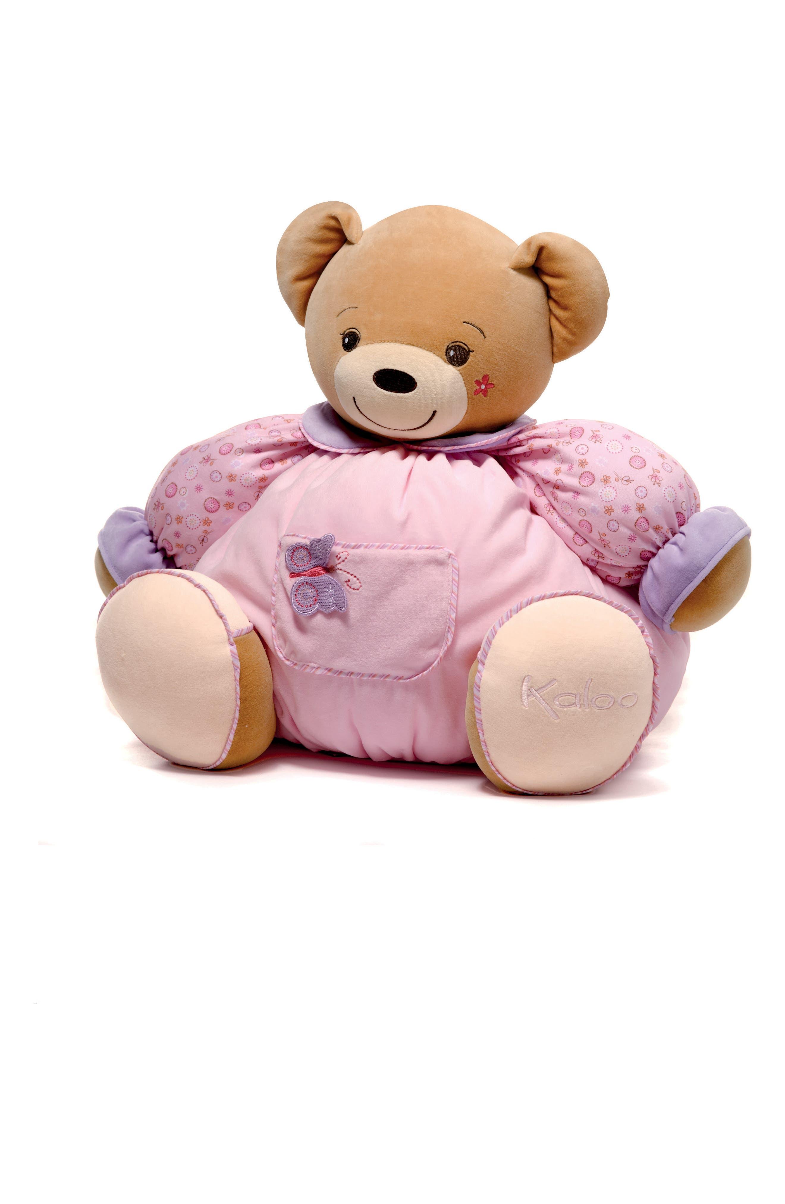 Lilirose Bear Stuffed Animal,                             Main thumbnail 1, color,                             PURPLE